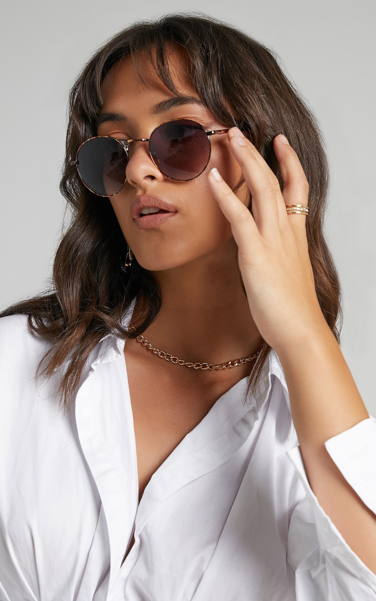 Reality Eyewear - Instant Karma Sunglasses in Turtle, , hi-res image number null