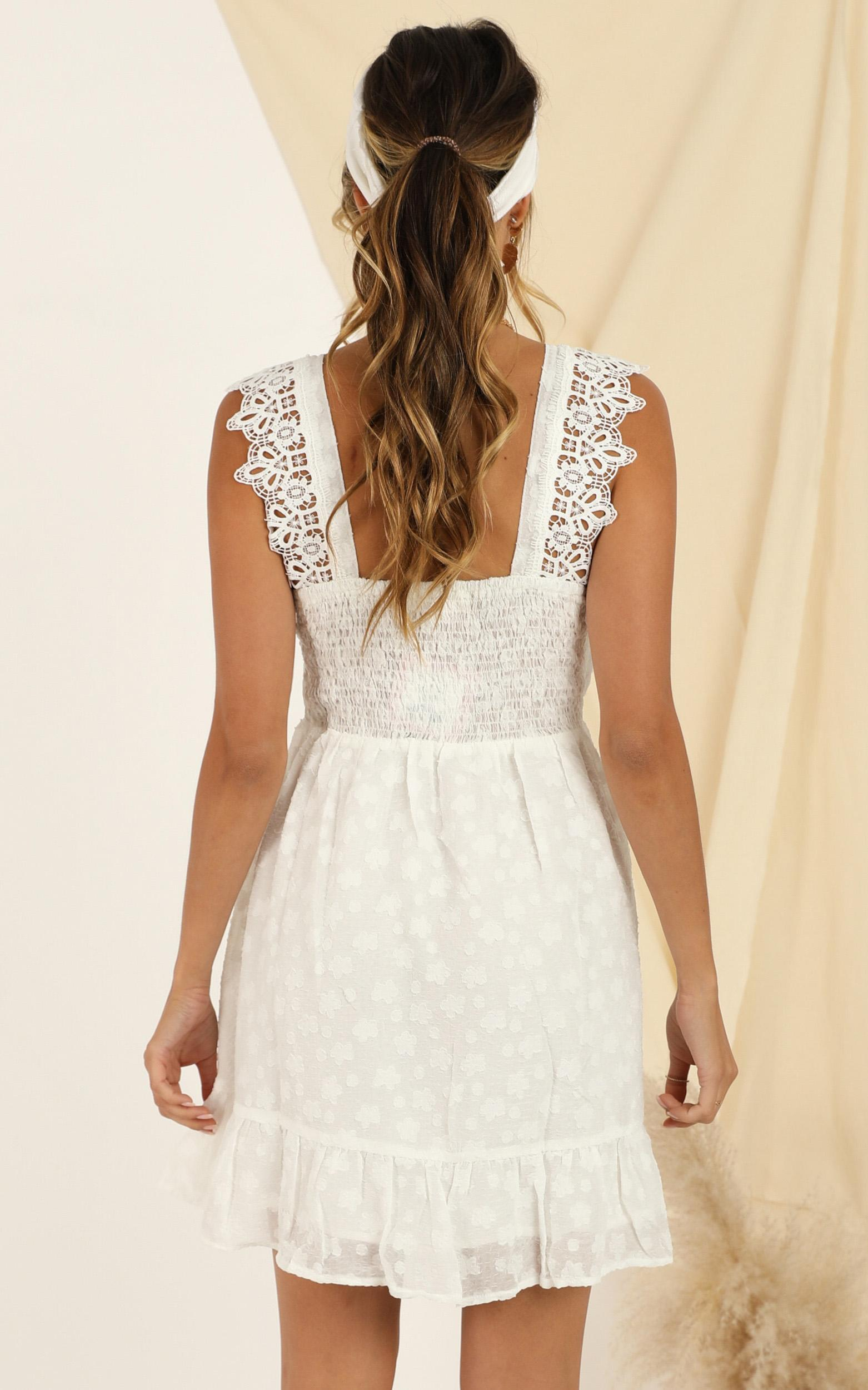 Lucky Together dress in white - 12 (L), White, hi-res image number null