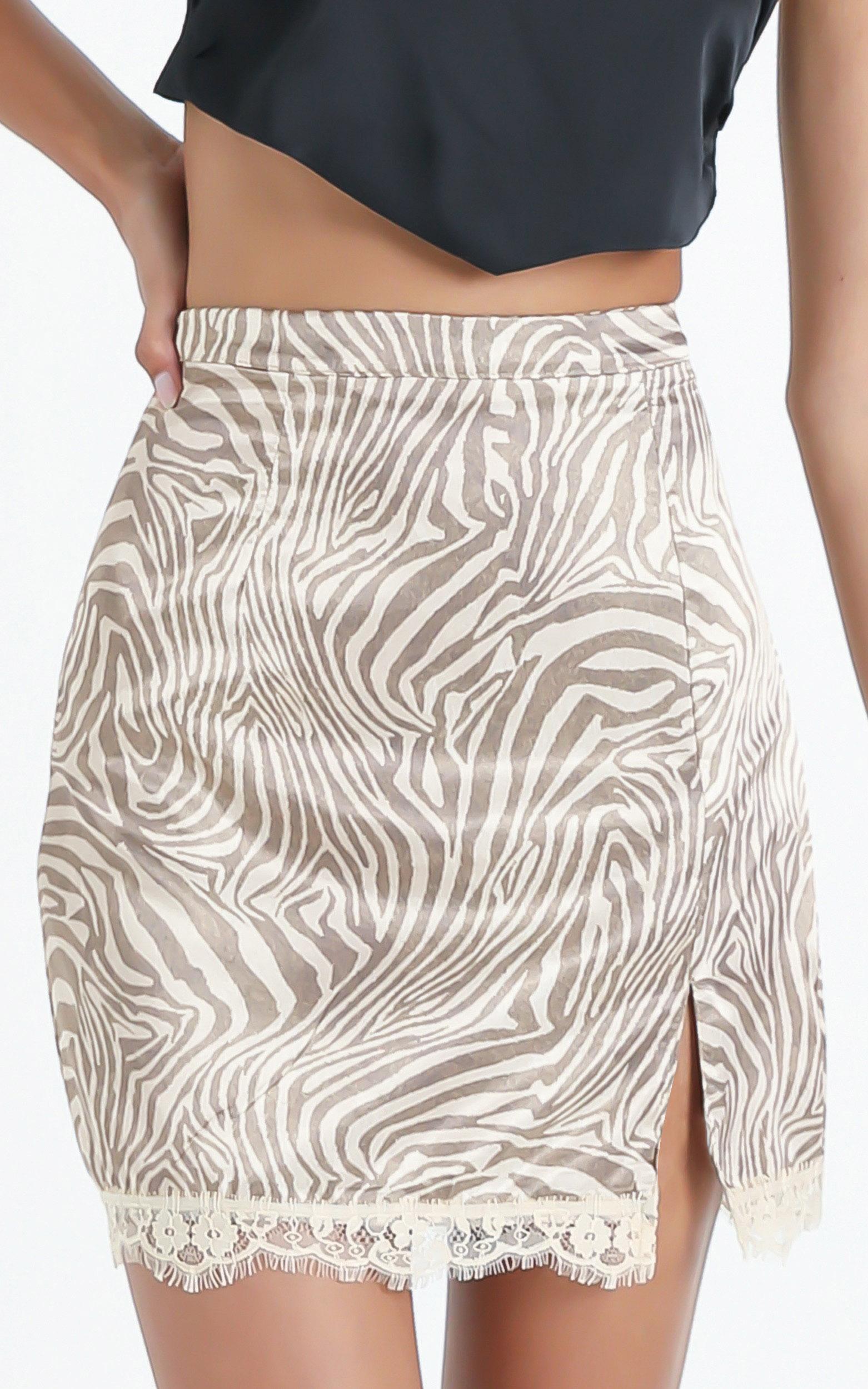 Banba Skirt in Zebra - 6 (XS), Multi, hi-res image number null
