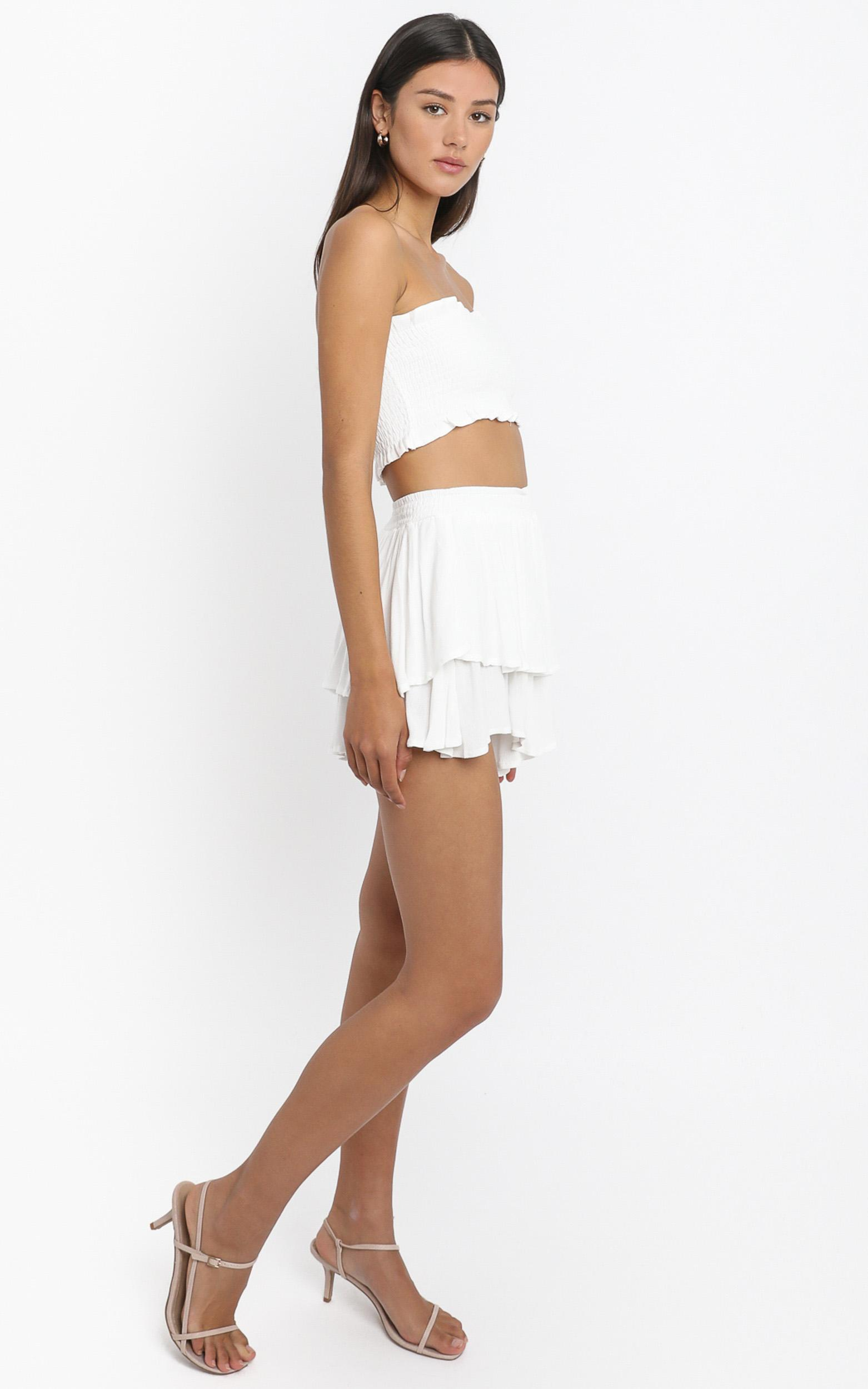 Adore you two piece set In white - 18 (XXXL), White, hi-res image number null