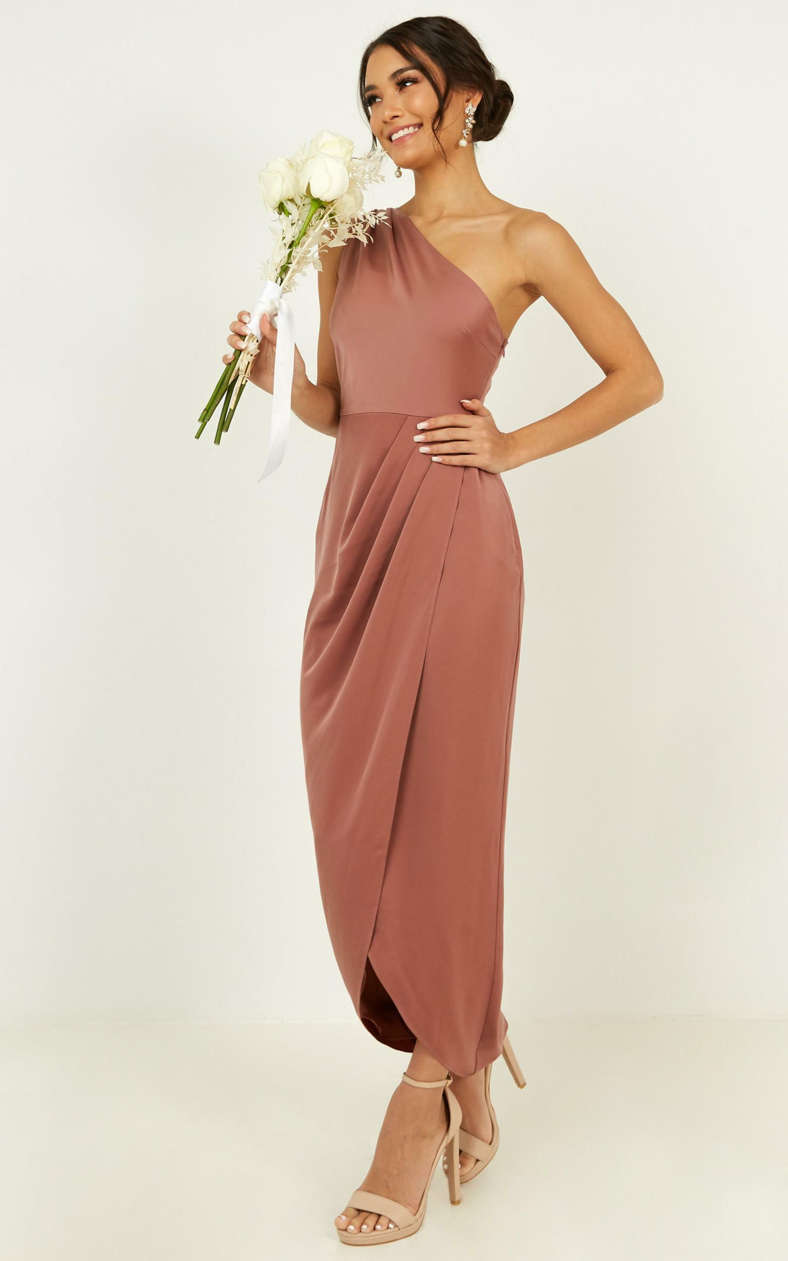 Felt So Happy Dress in Dusty Rose - 14, PNK4, hi-res image number null