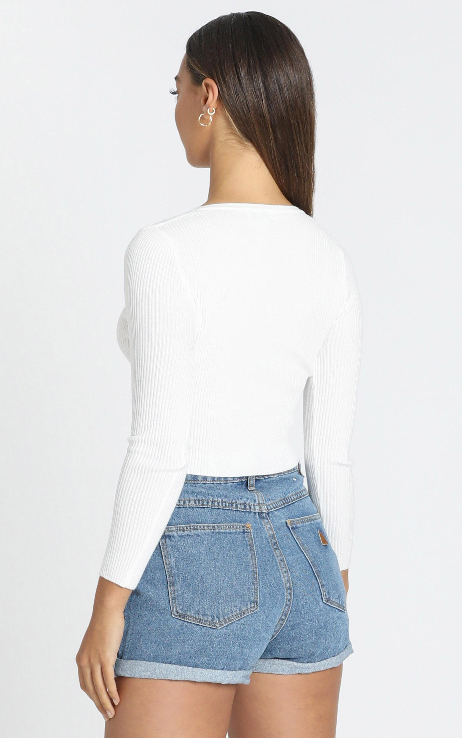 Faylinn Top in White - 6 (XS), White, hi-res image number null