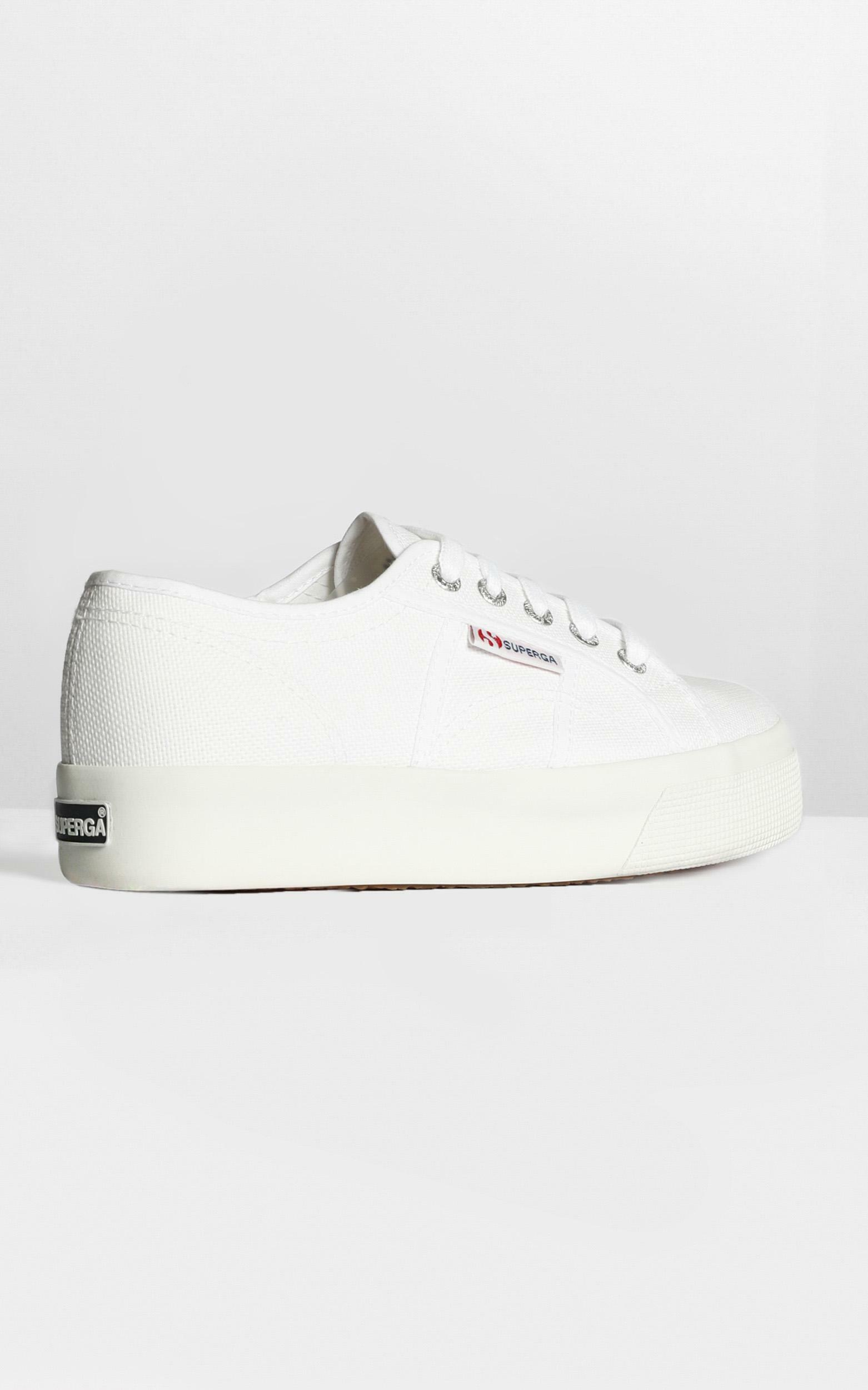 Superga- 2730 Cotu Sneakers in white canvas - 6, White, hi-res image number null