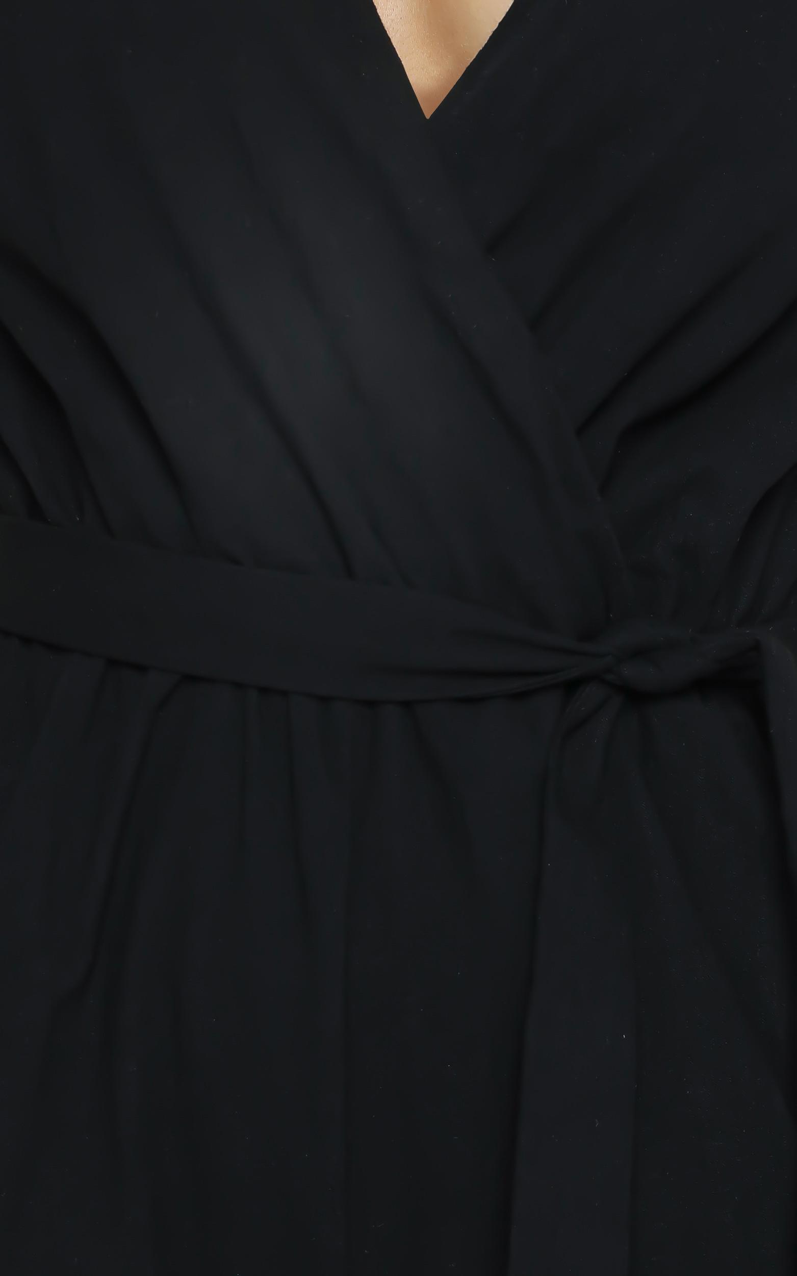 Darlin Playsuit in Black - 6 (XS), Black, hi-res image number null