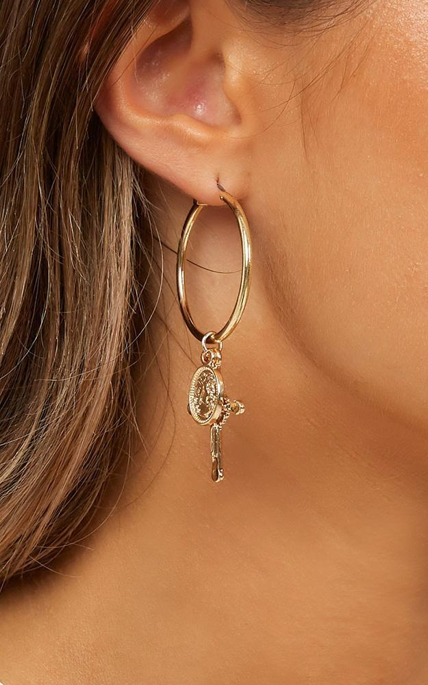 Dawned On Me Earrings In Gold, , hi-res image number null
