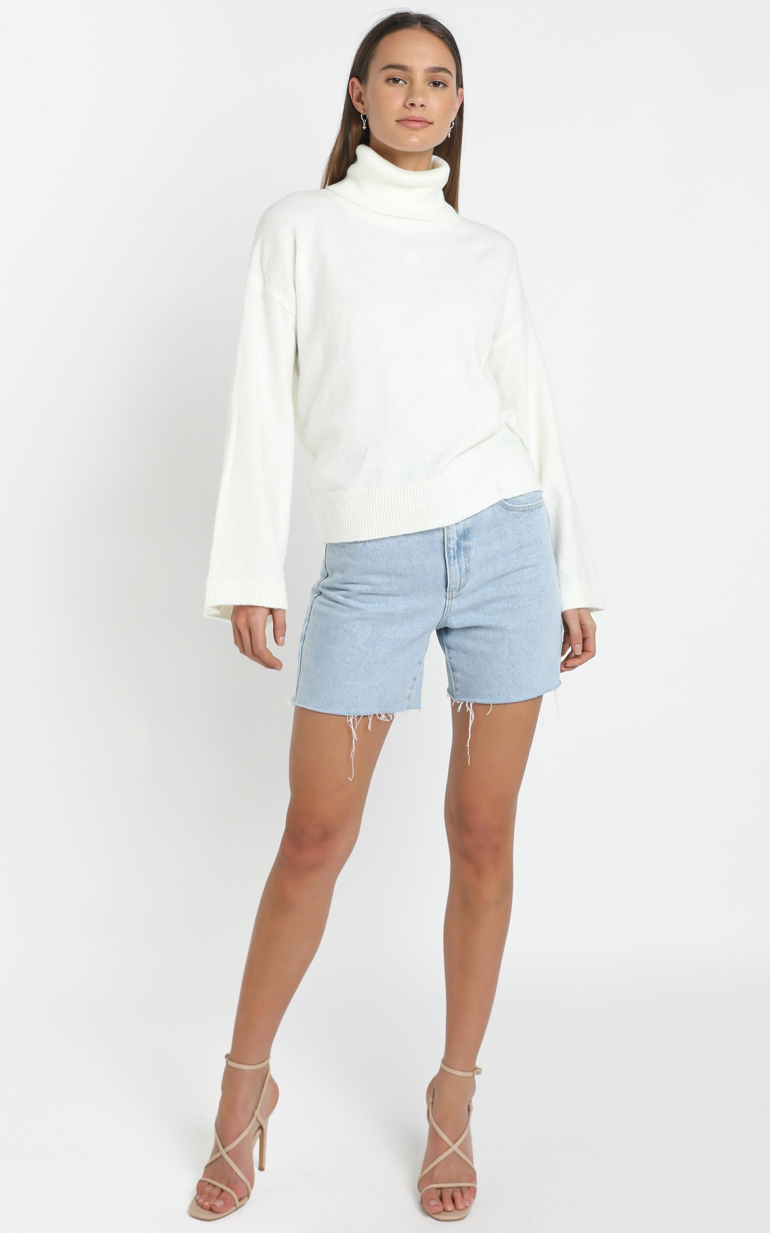 Ellery Knit in White - L/XL, White, hi-res image number null