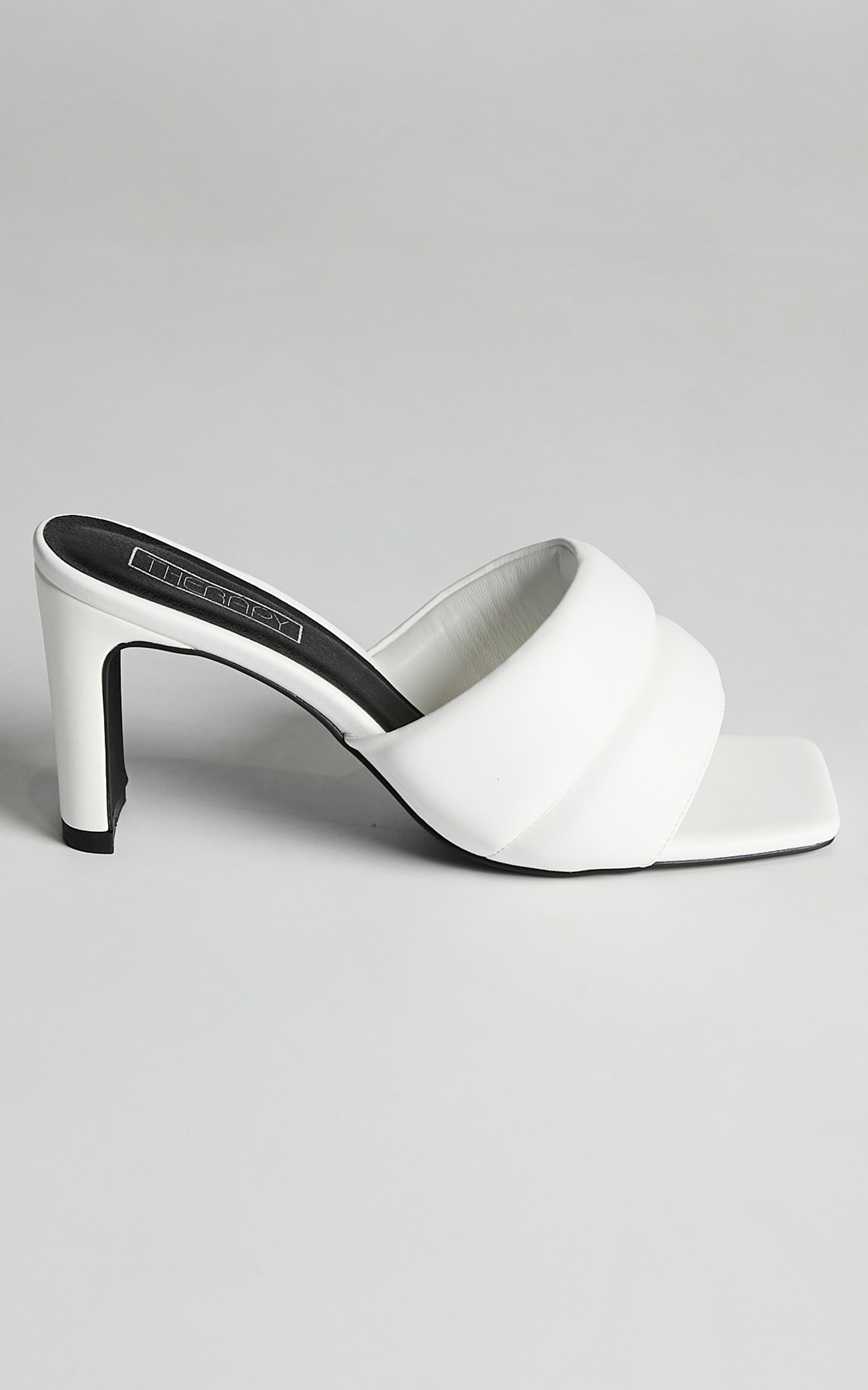 Therapy - Cat Heels in White