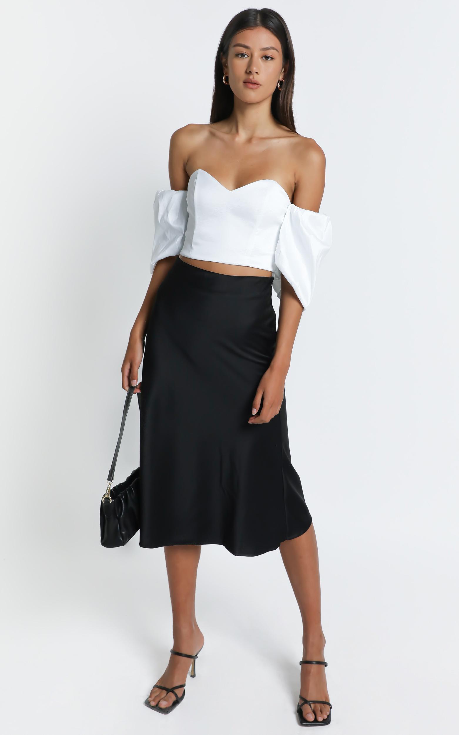 Ethra Skirt in Black - 6 (XS), Black, hi-res image number null