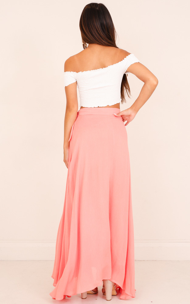 Break A Leg Maxi Skirt in pink - 6 (XS), PNK1, hi-res image number null