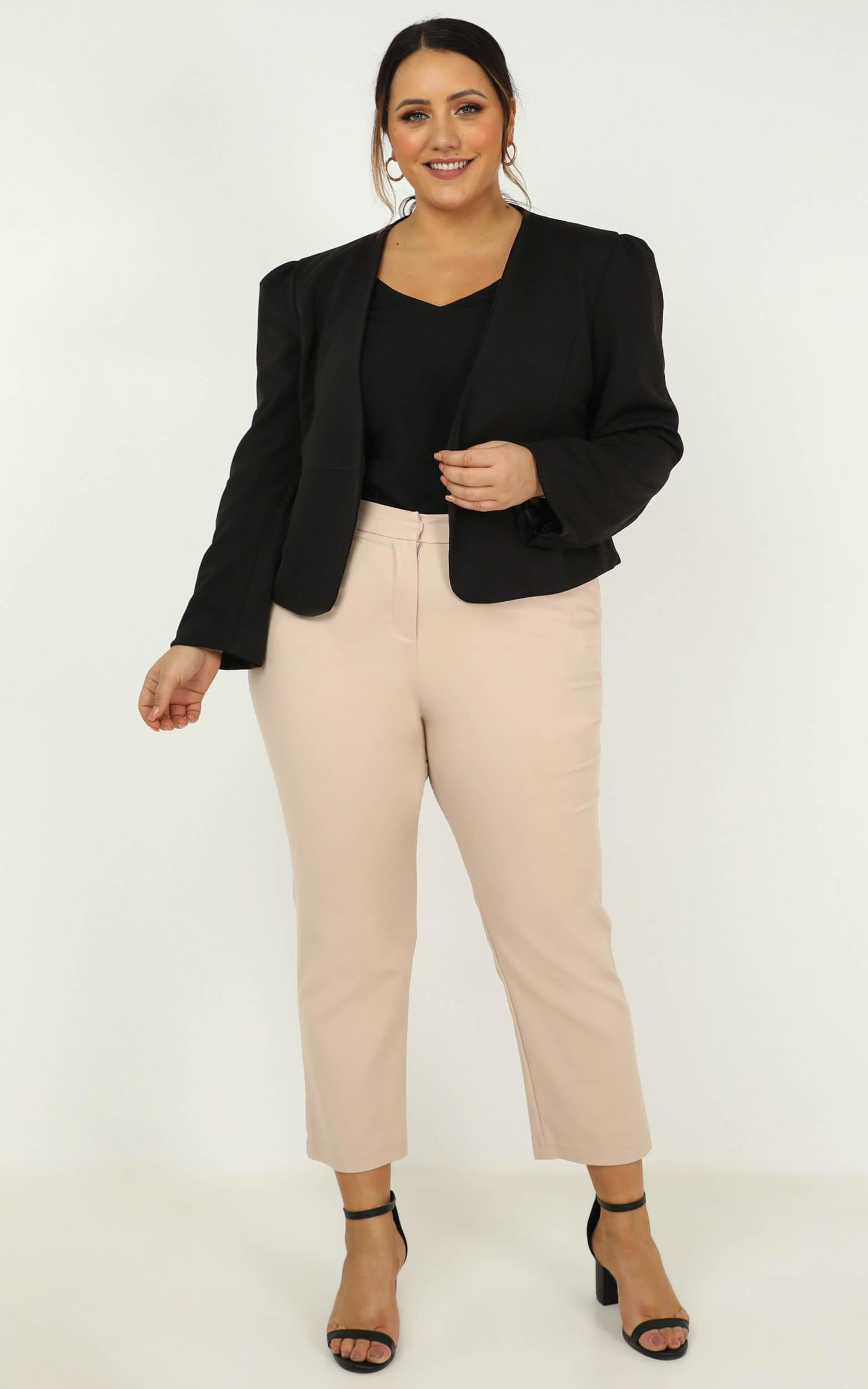 Meeting with You Blazer In black - 14 (XL), Black, hi-res image number null