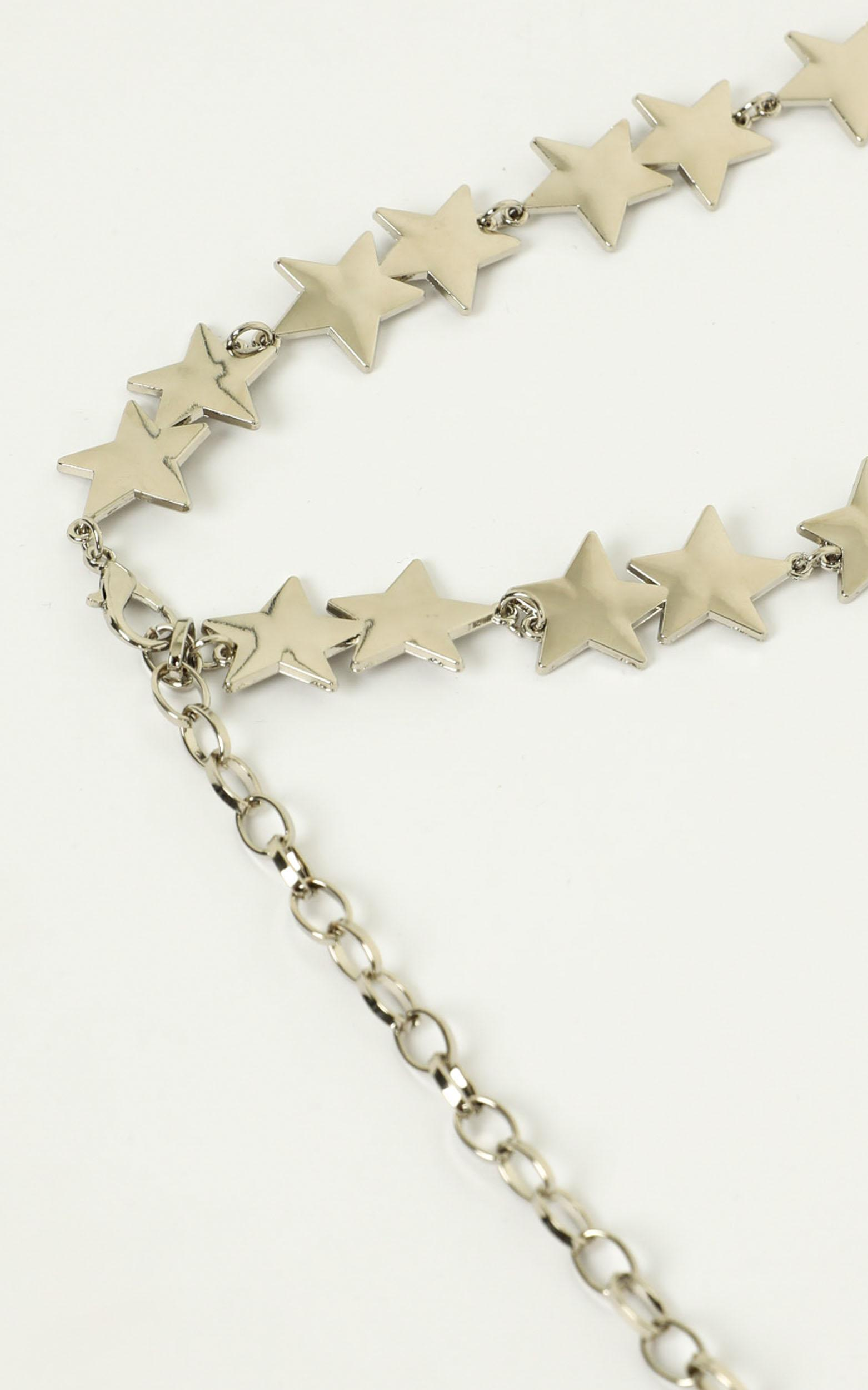 Touch The Sky Chain Belt In Silver, Gold, hi-res image number null