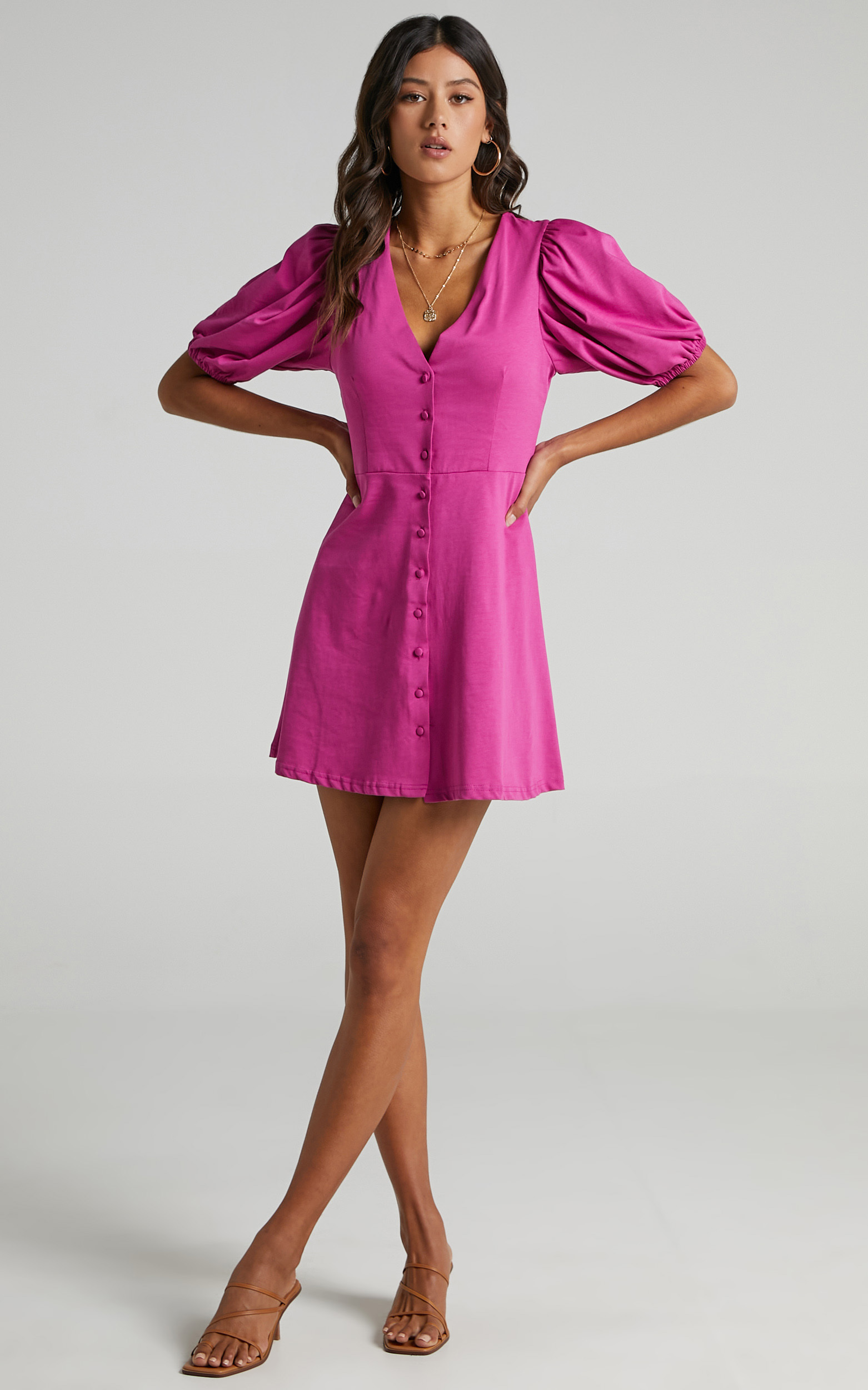 Rochelle Dress in Purple - 06, PRP1, hi-res image number null