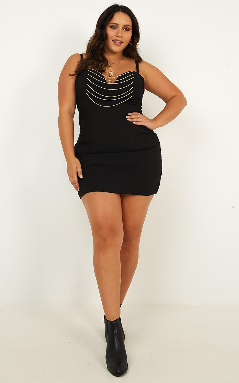 Missing Halo Dress in black - 20 (XXXXL), Black, hi-res image number null