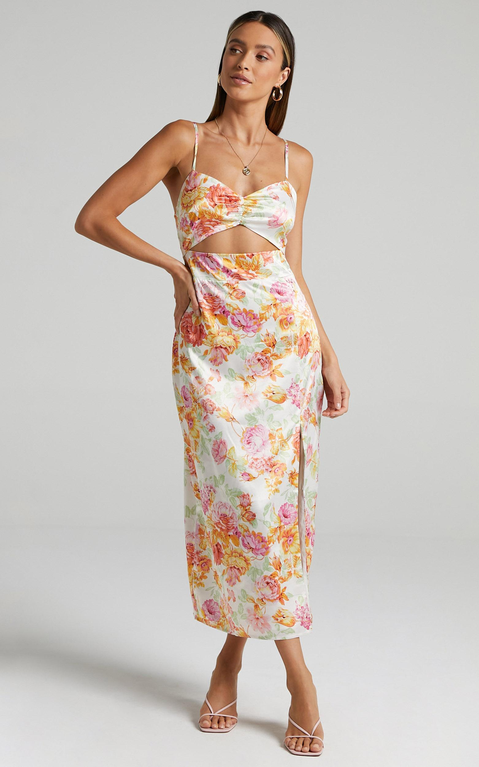 Annabeth Dress in Romantic Floral - 6 (XS), Multi, hi-res image number null