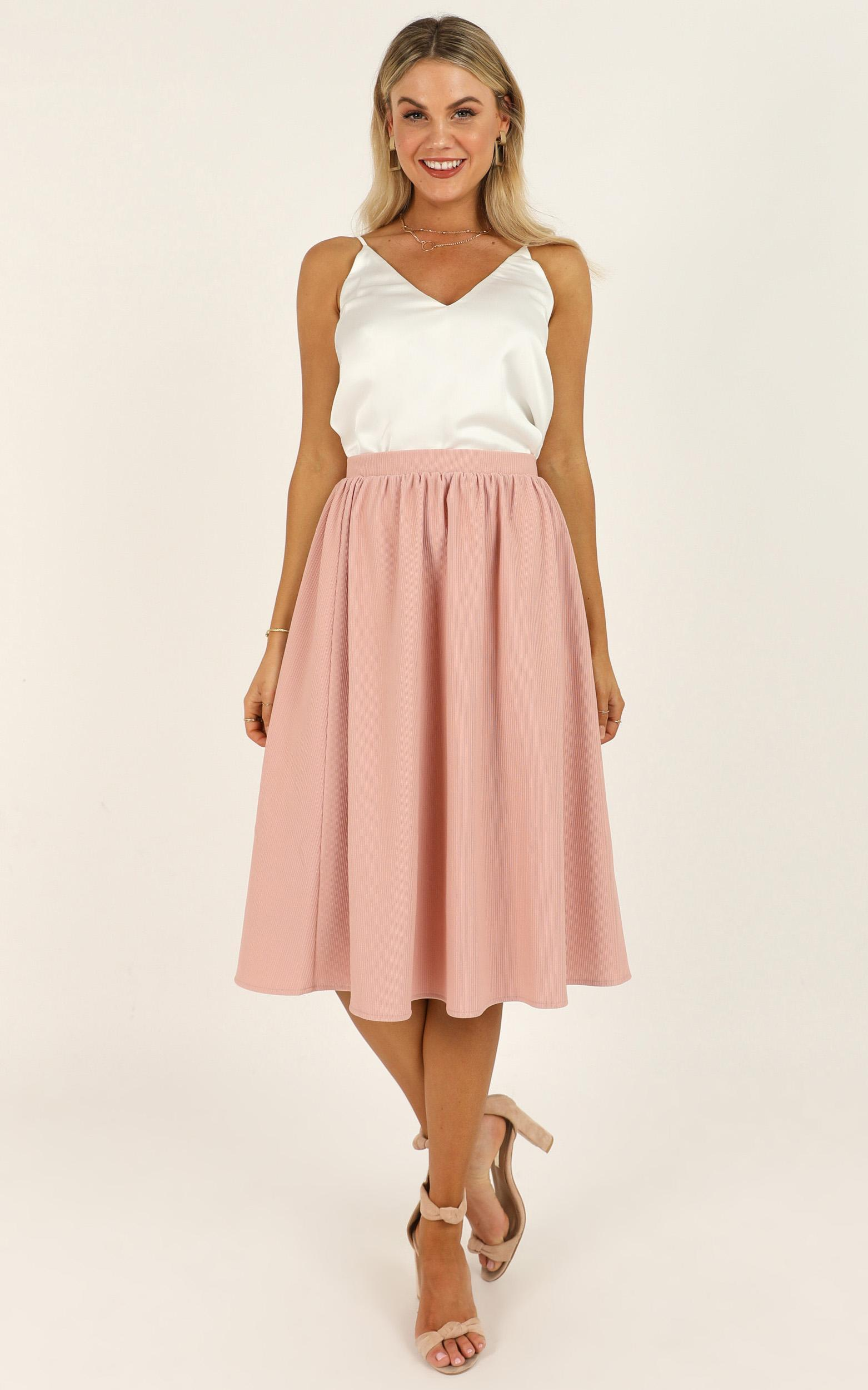Change Of Pace Skirt in blush - 20 (XXXXL), Blush, hi-res image number null
