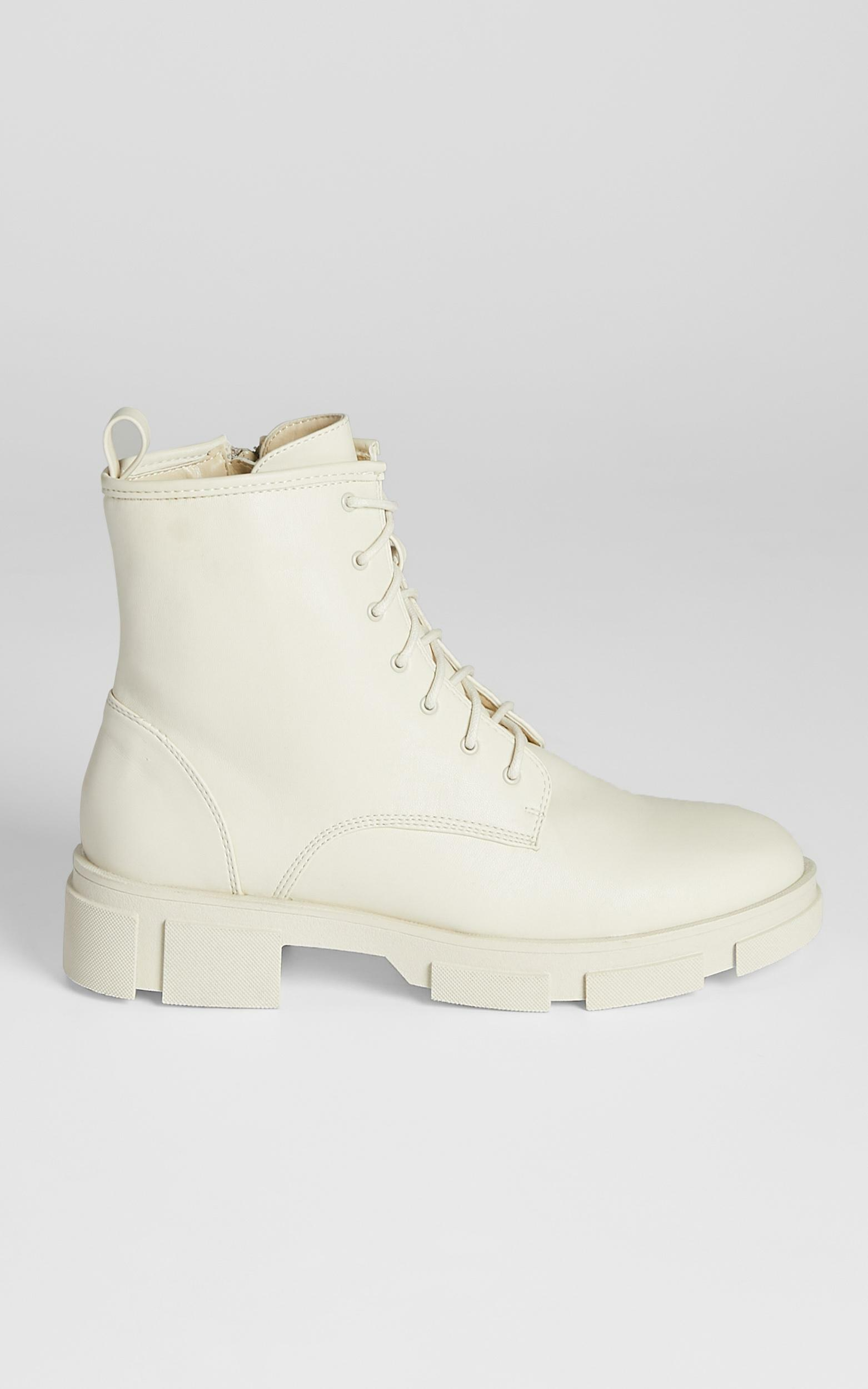 Therapy - Nadia Boots in Cream - 5, Cream, hi-res image number null