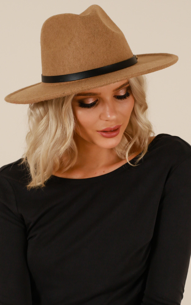 Found Me Out hat in tan, , hi-res image number null