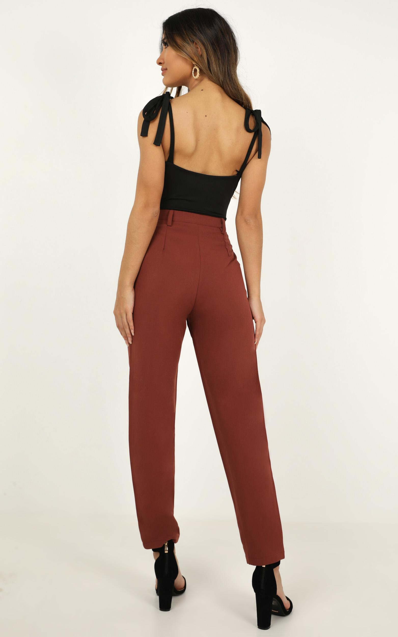 On The Other Side Pants In rust - 20 (XXXXL), Rust, hi-res image number null