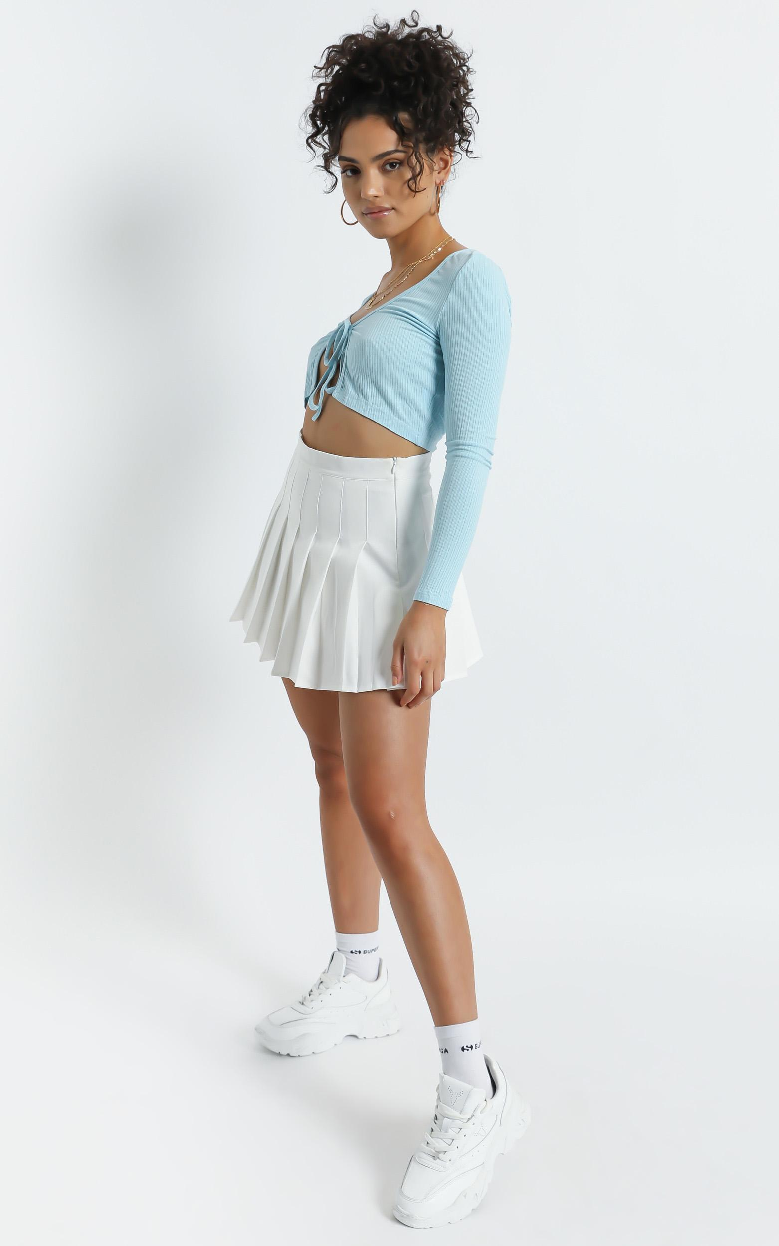 Maeve Skirt in White - 8 (S), White, hi-res image number null