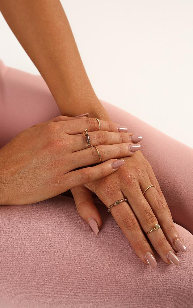 Another Dimension ring set in gold, , hi-res image number null