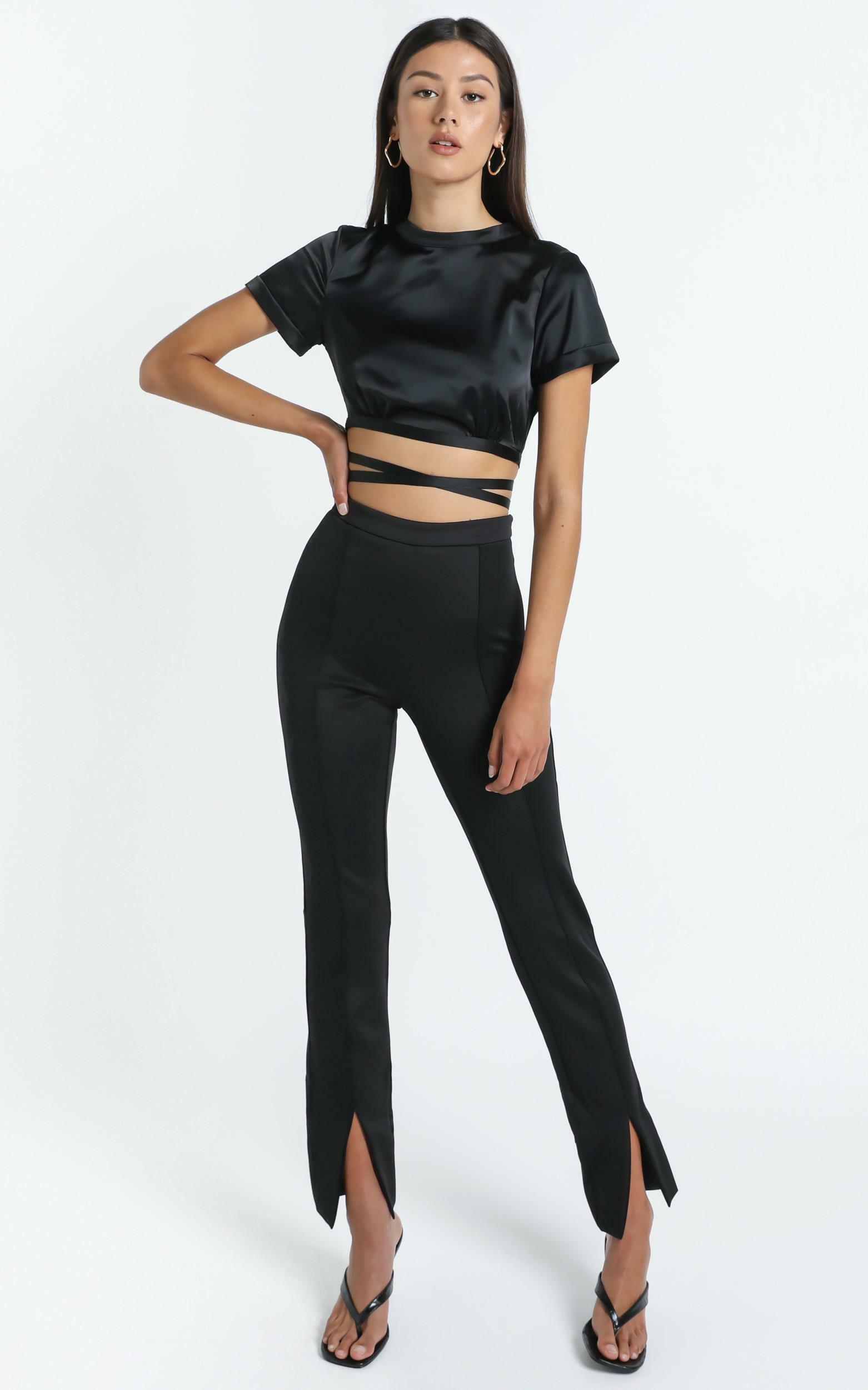 Laylin Pants in Black - 14 (XL), Black, hi-res image number null