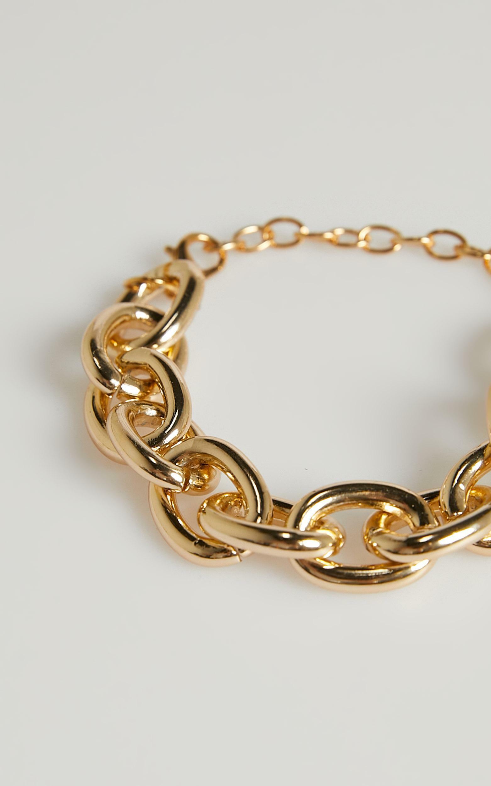 Agata Bracelet in Gold, , hi-res image number null