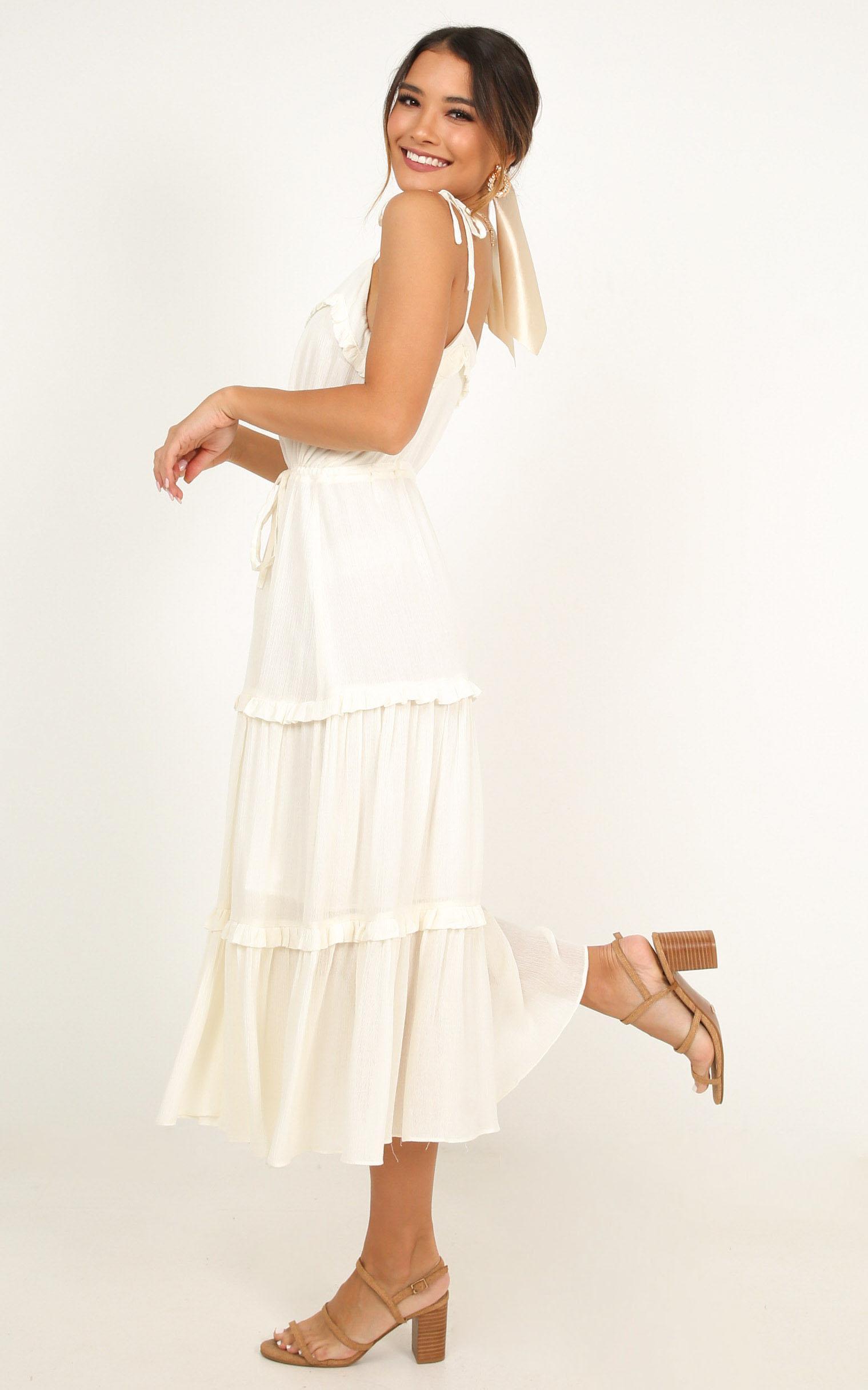 Wild Vibes Dress in cream - 20 (XXXXL), Cream, hi-res image number null