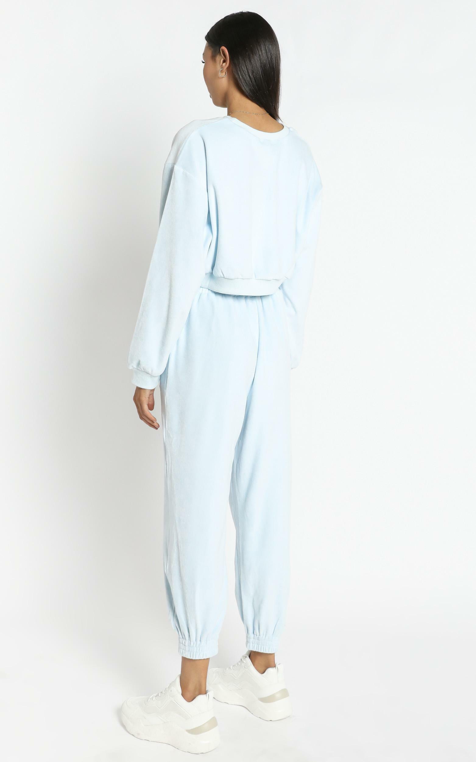 Merrick Sweat Pants in Pastel Blue - 12 (L), Blue, hi-res image number null