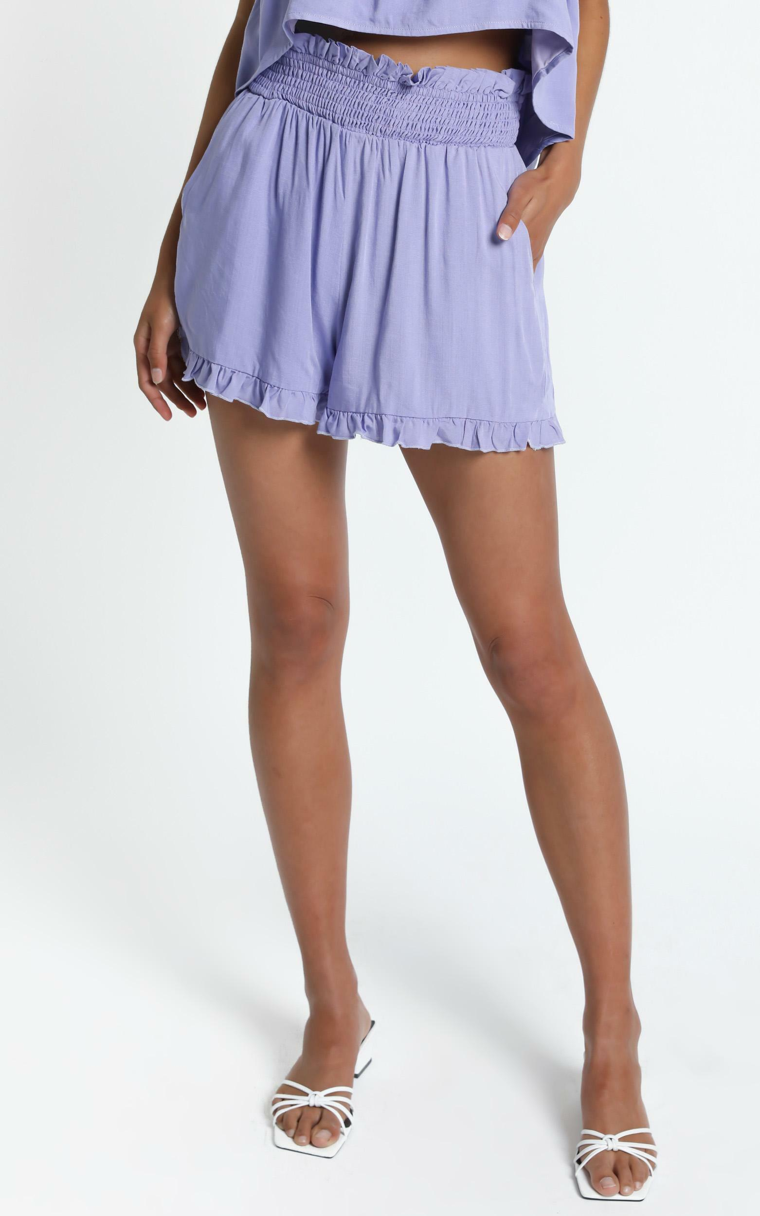 Hampshire Shorts in Lilac - 6 (XS), PRP1, hi-res image number null