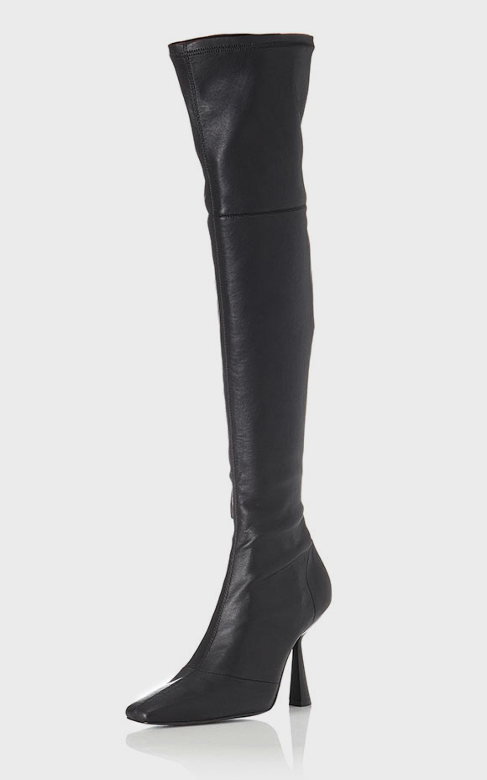 Alias Mae - Victoria Boots in Black Stretch - 5.5, Black, hi-res image number null
