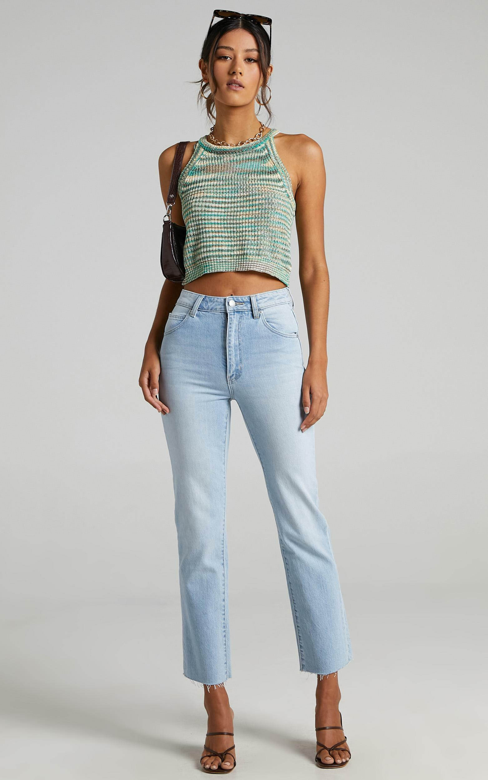 Bexley Top in Green Space Dye - S/M, GRN1, hi-res image number null
