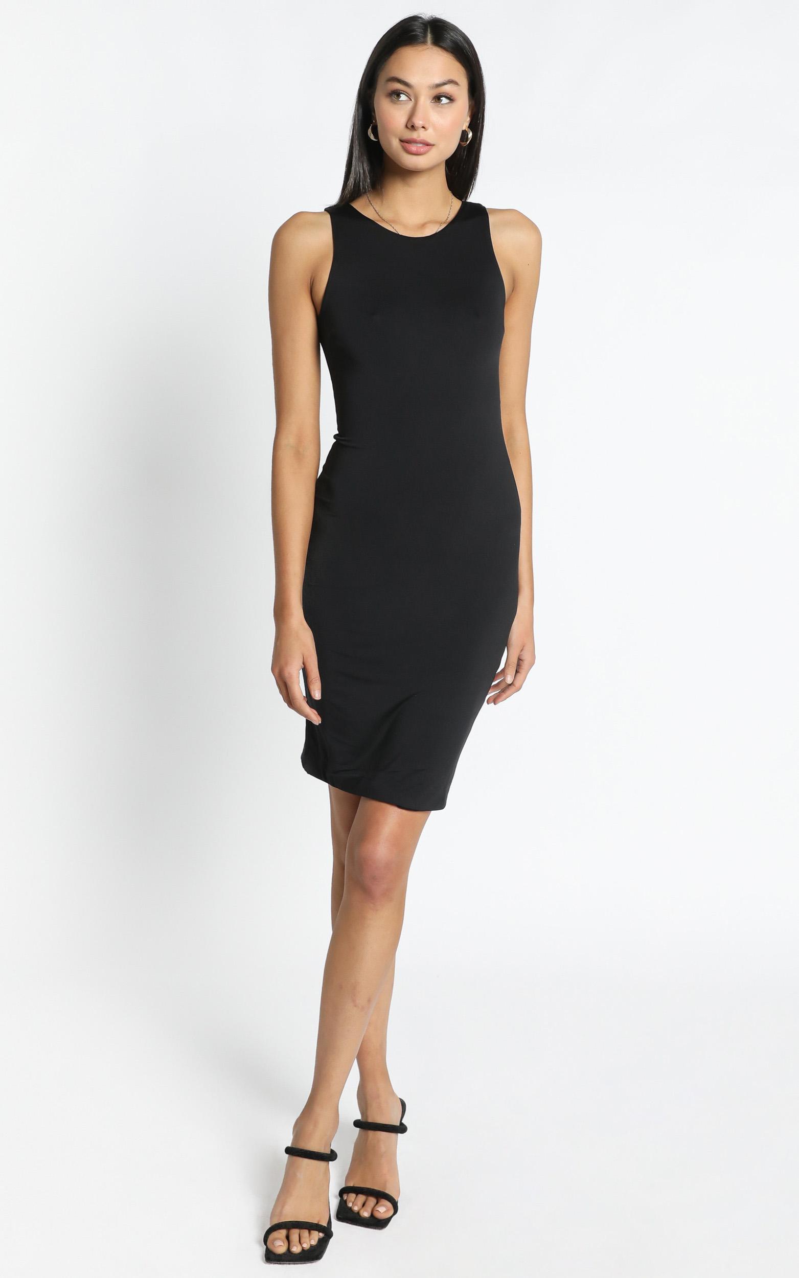 Becca Dress in Black - 12 (L), Black, hi-res image number null