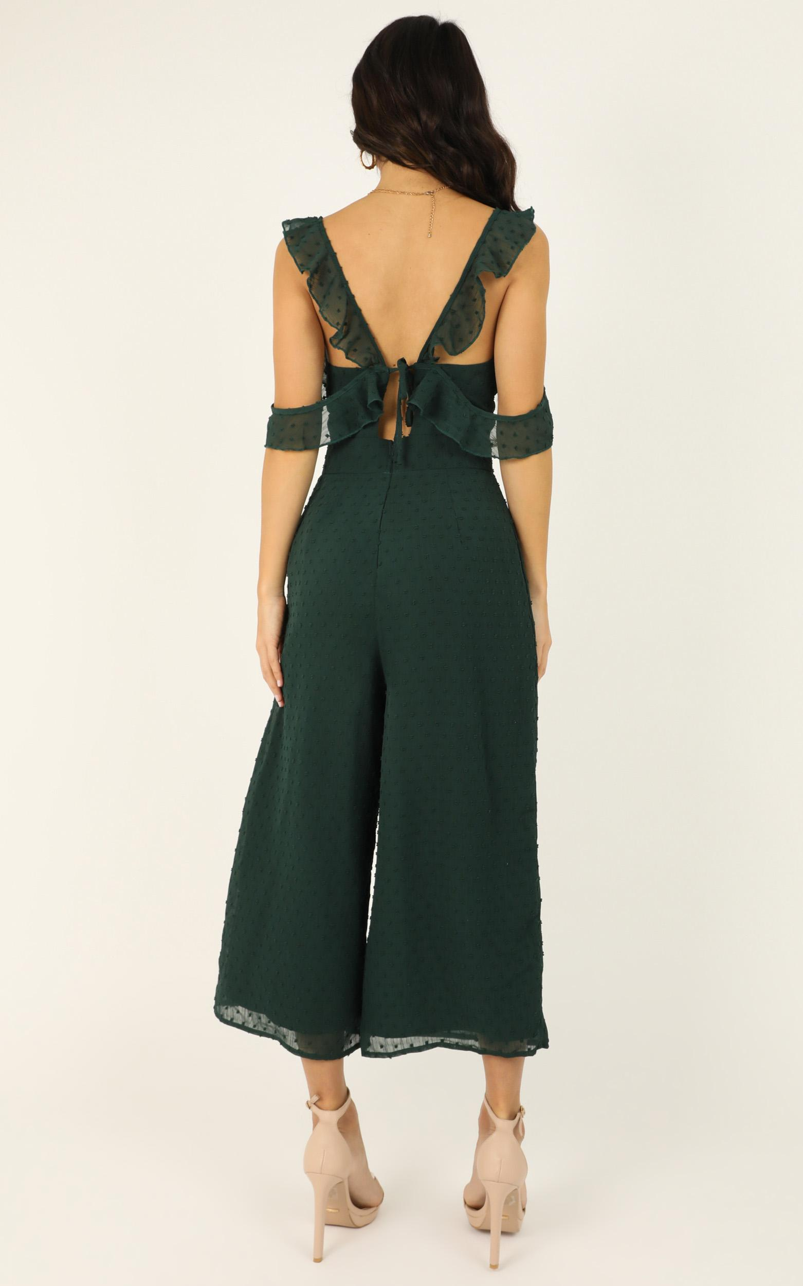 Youre Finally Home Jumpsuit in emerald - 18 (XXXL), Green, hi-res image number null