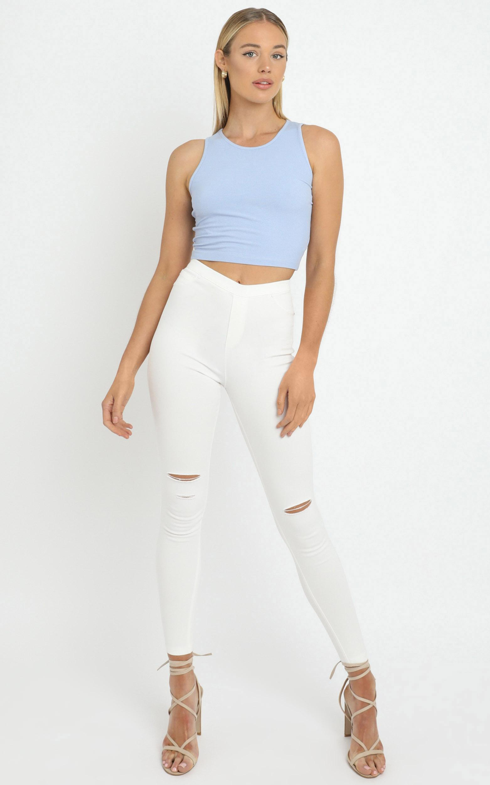 Cormac Jeans in White - 16 (XXL), WHT1, hi-res image number null