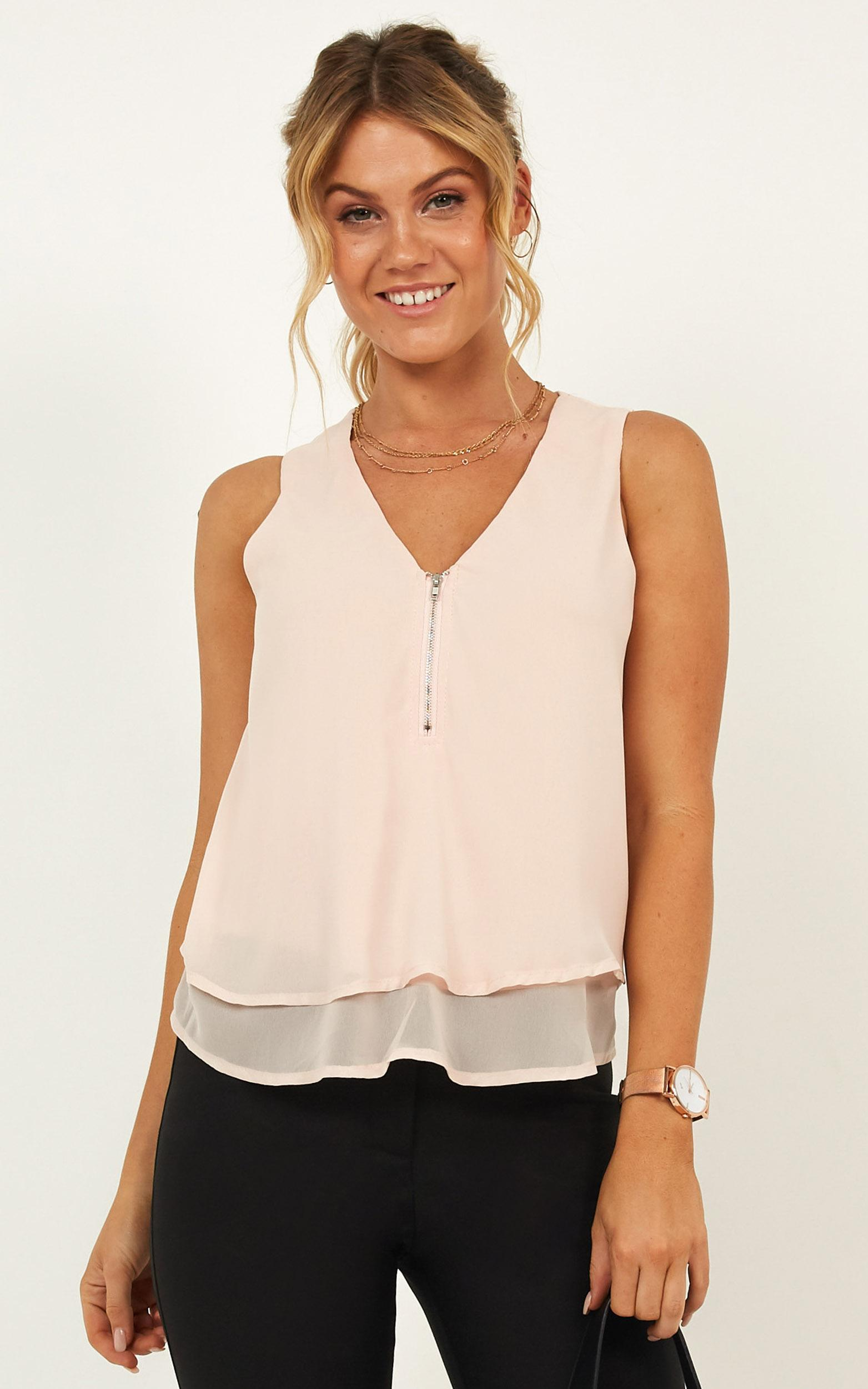 Powerful Impact Top In blush - 20 (XXXXL), Blush, hi-res image number null