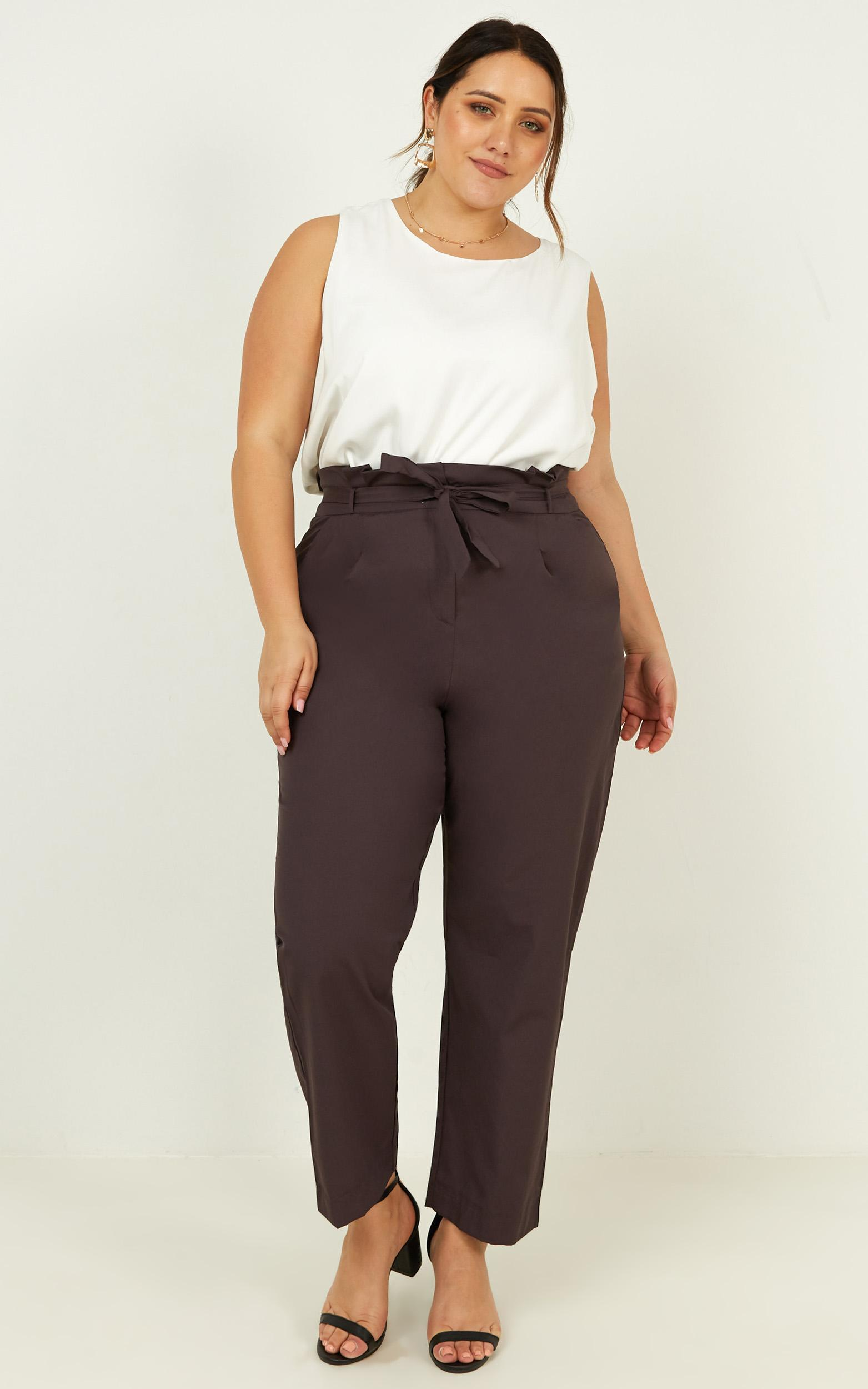 Management Pants in grey - 20 (XXXXL), Grey, hi-res image number null