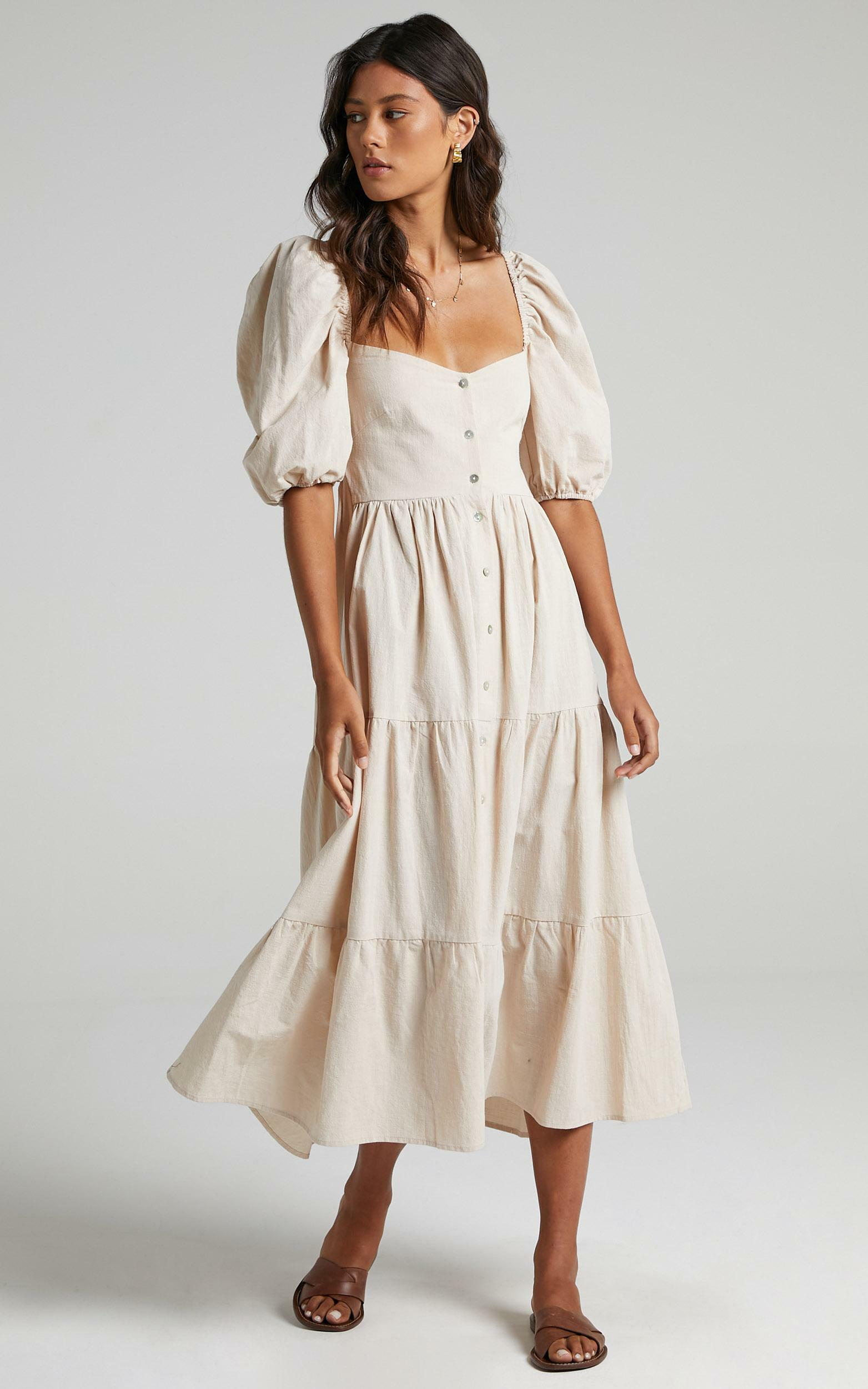 Palmer Dress in Cream - 06, CRE2, hi-res image number null
