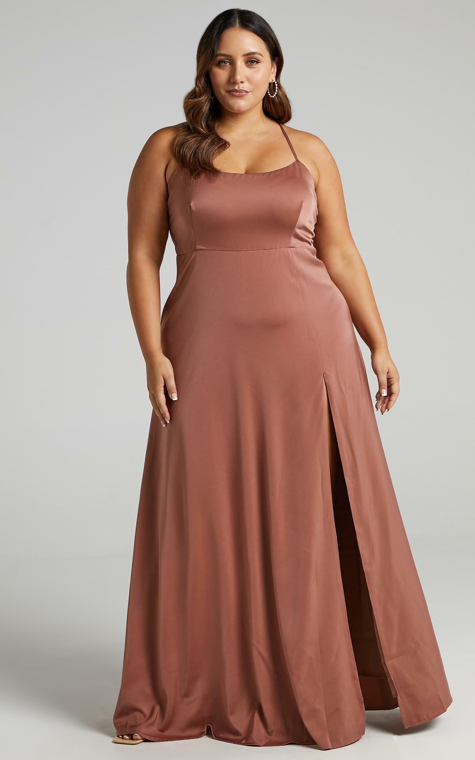 Will it be us dress in dusty rose - 20 (XXXXL), PNK12, hi-res image number null