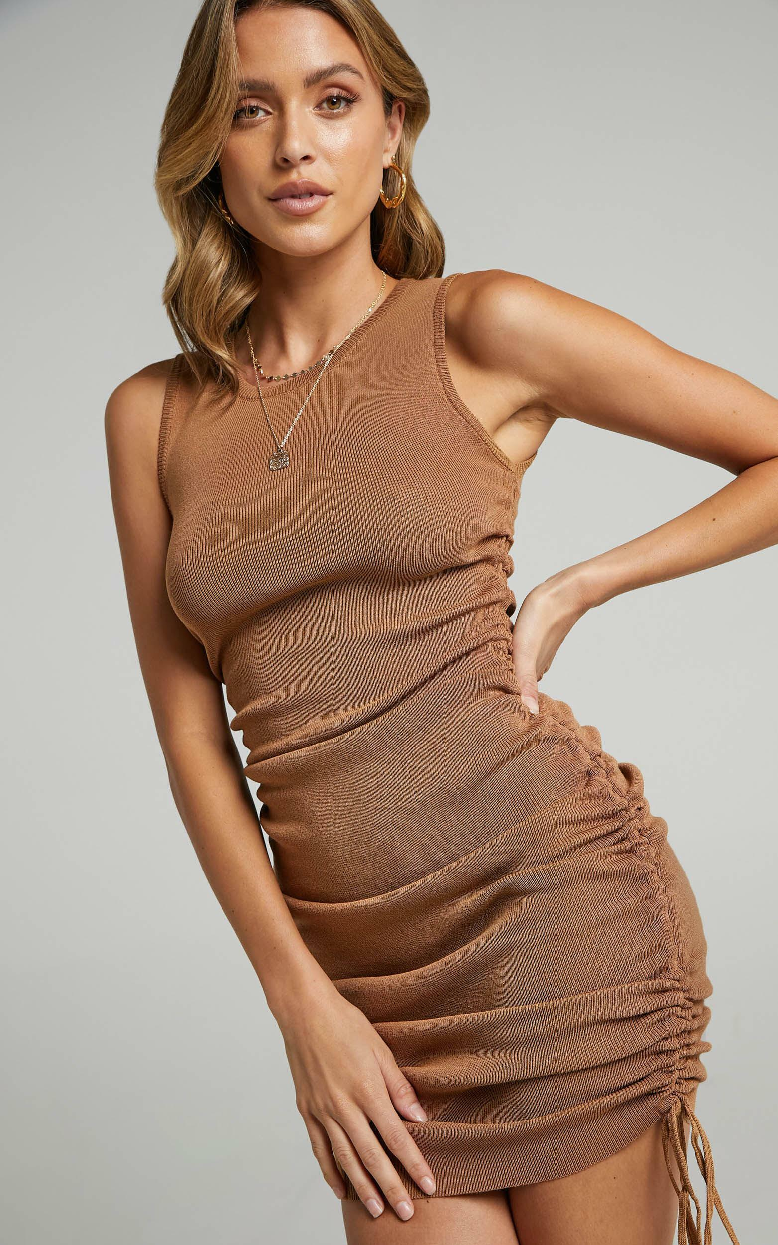 Lioness - Military Minds Dress in Tan - 12, BRN5, hi-res image number null