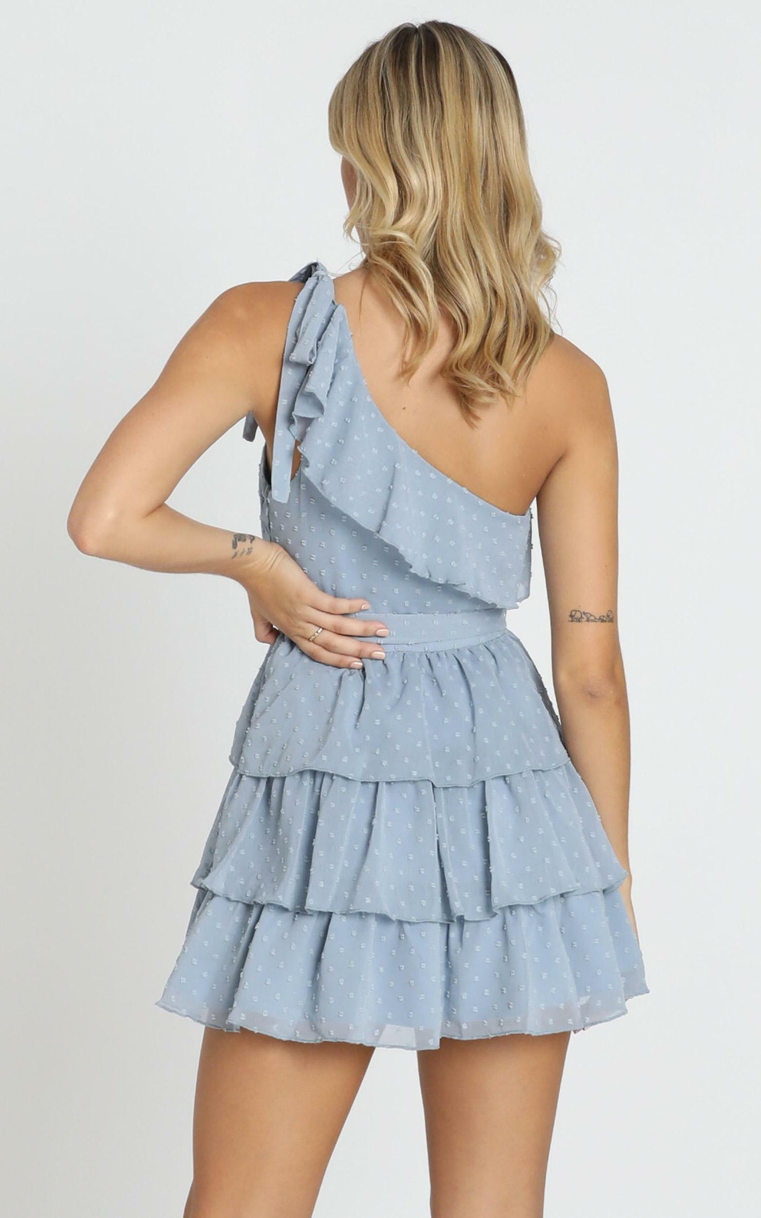Darling I Am A Daydream Dress in powder blue - 20 (XXXXL), Blue, hi-res image number null