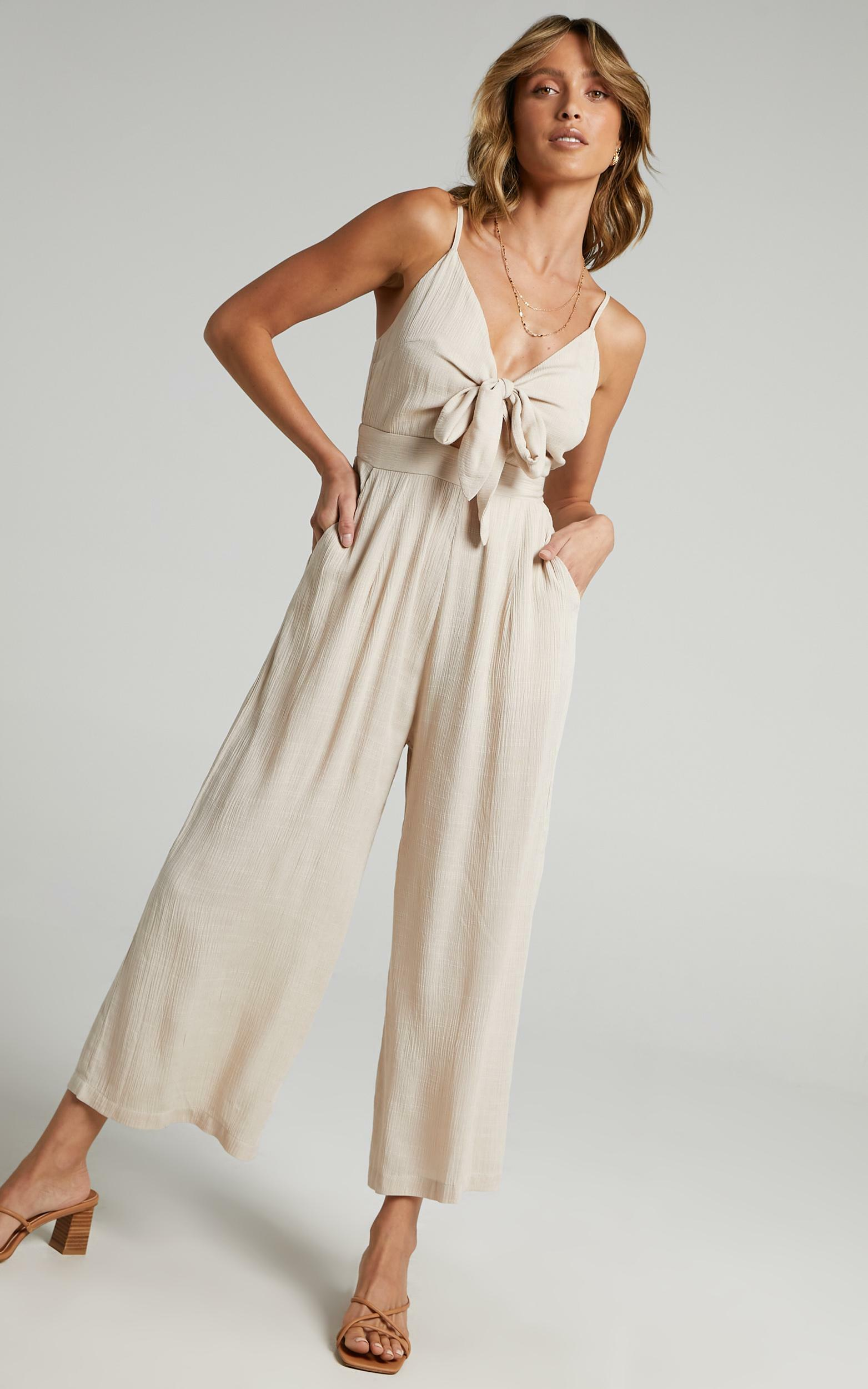 Renewed Jumpsuit in Natural - 4 (XXS), NEU5, hi-res image number null