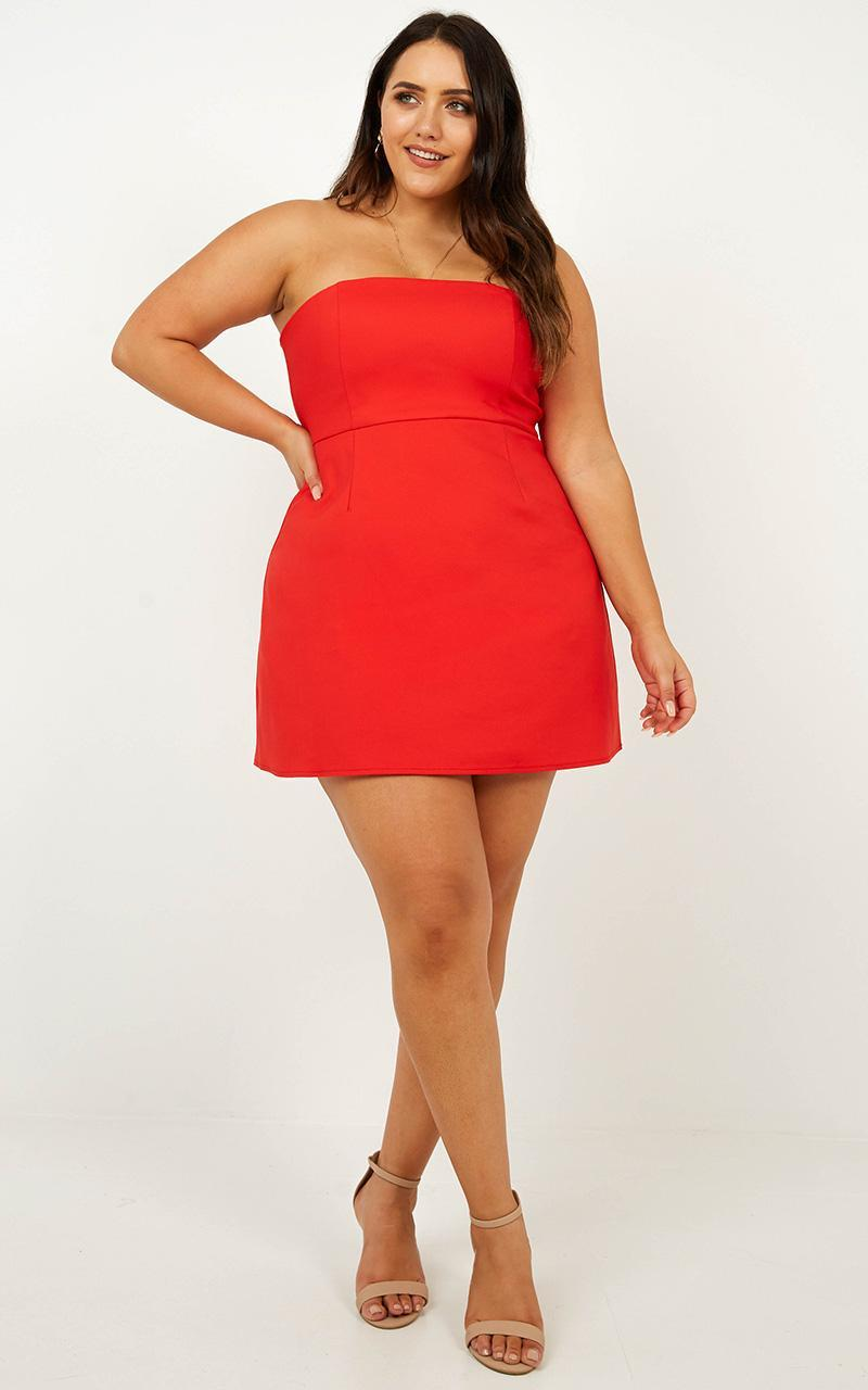 Cover Star Dress in red - 20 (XXXXL), Red, hi-res image number null