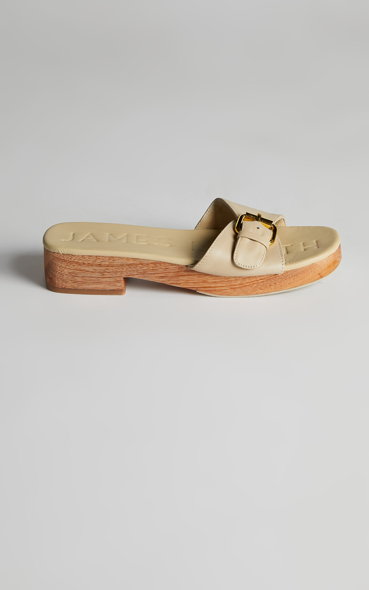 James Smith - Como Clog in Nude - 05, BRN2, hi-res image number null