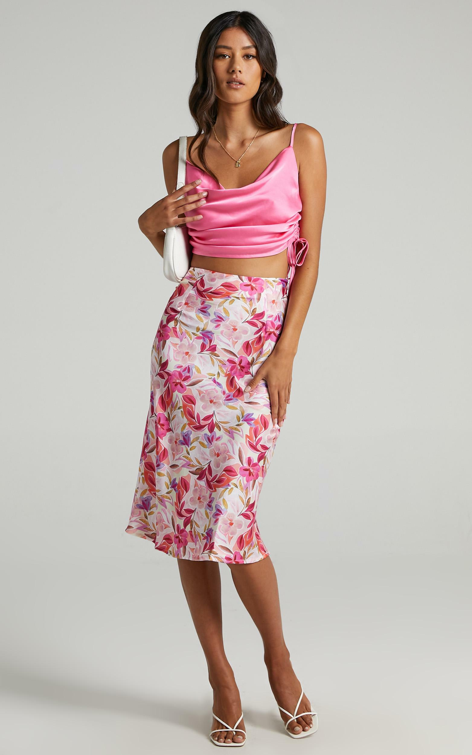 Creating Art Skirt in Eventful Bloom - 6 (XS), PNK1, hi-res image number null