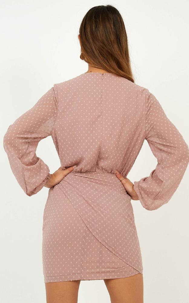 Head Above Water Dress in blush - 20 (XXXXL), Blush, hi-res image number null