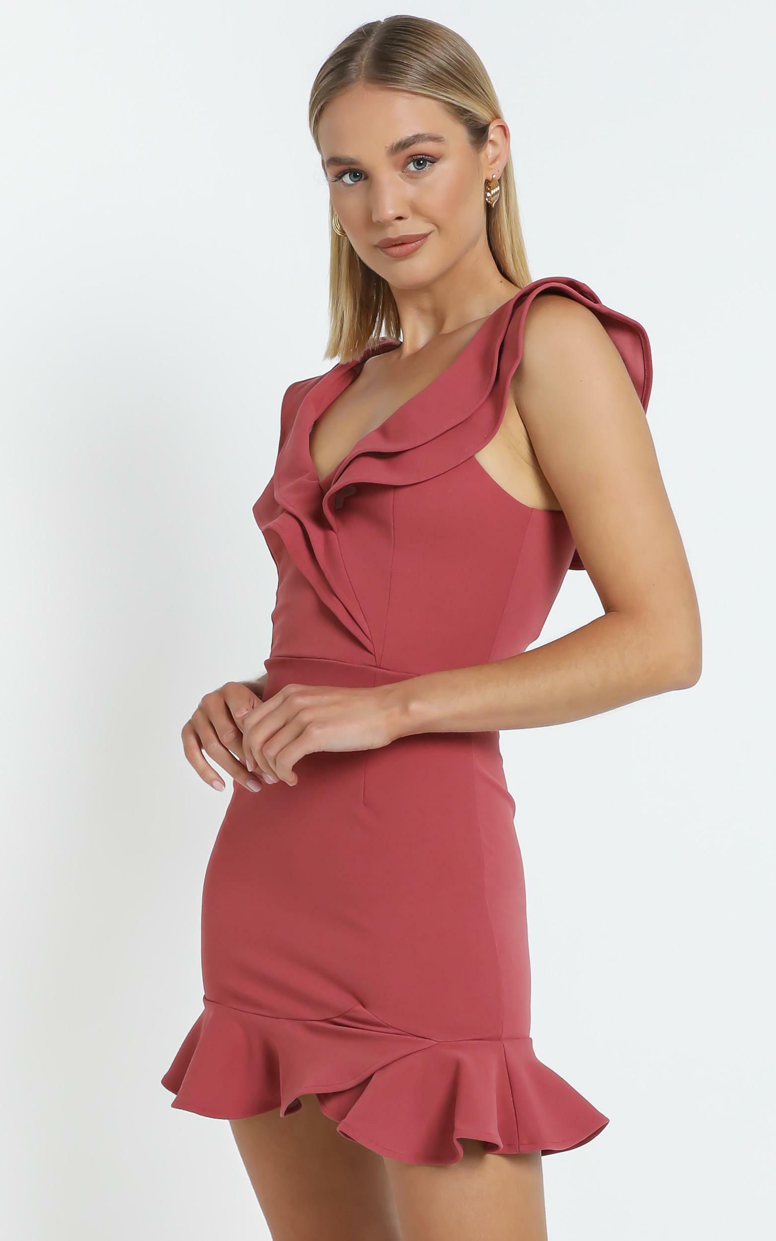 Alessandra Dress in Rose Pink - 12, PNK2, hi-res image number null