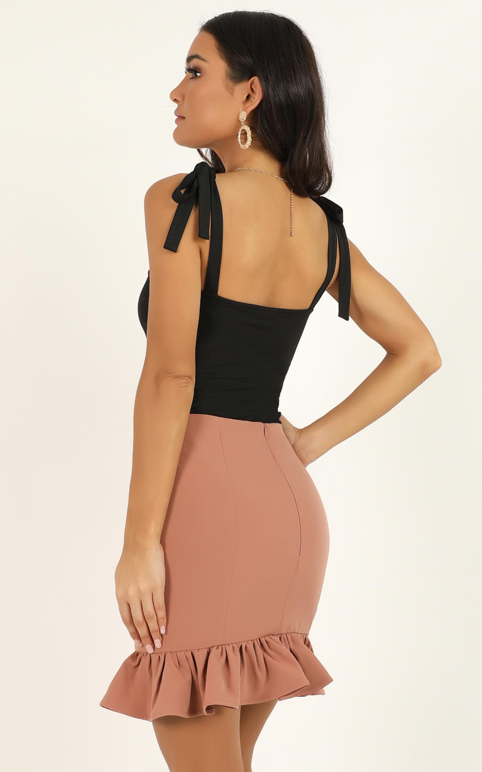 Small Town Way Skirt In blush - 20 (XXXXL), Blush, hi-res image number null