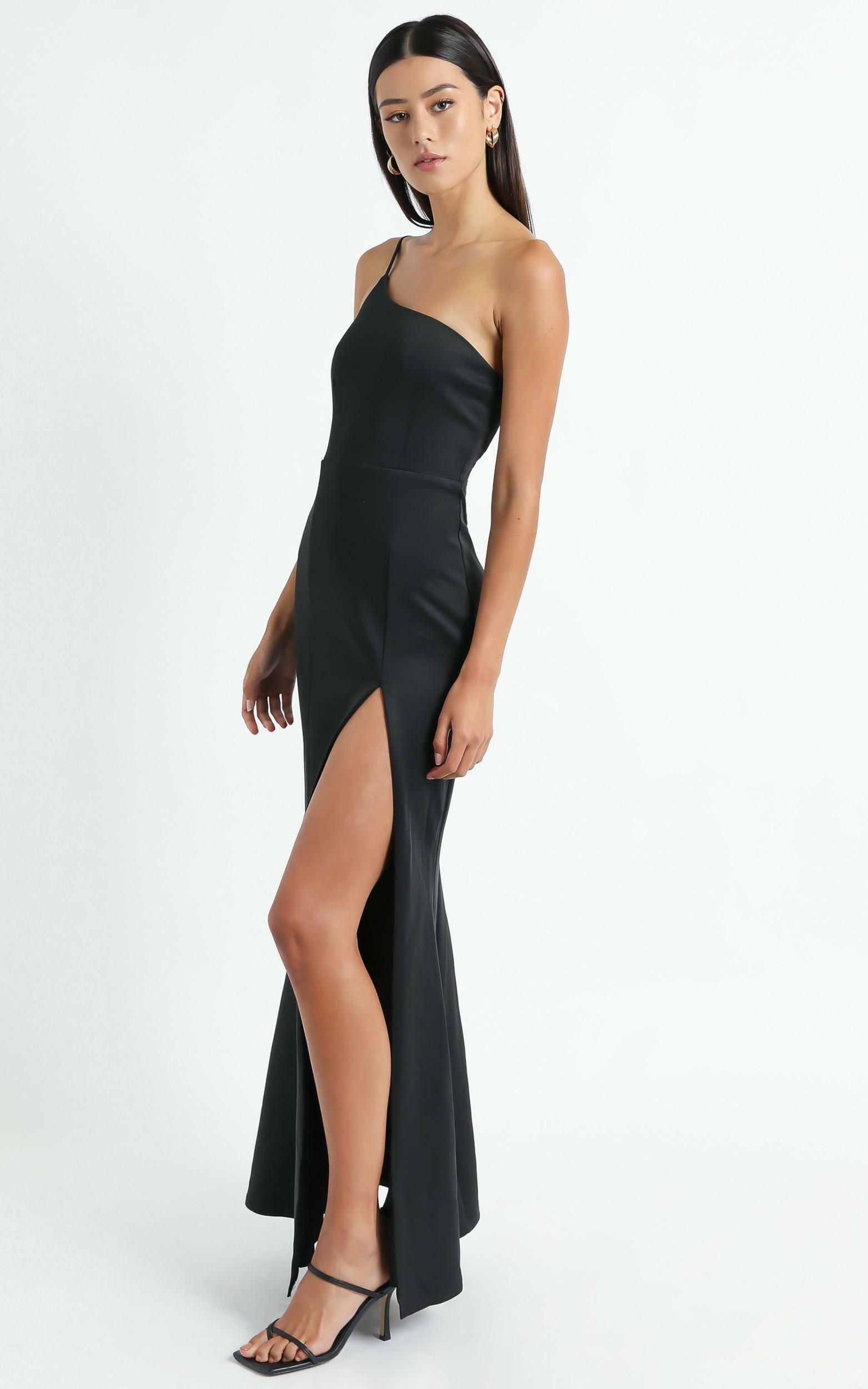 No Ones Fault Dress in Black - 4 (XXS), Black, hi-res image number null