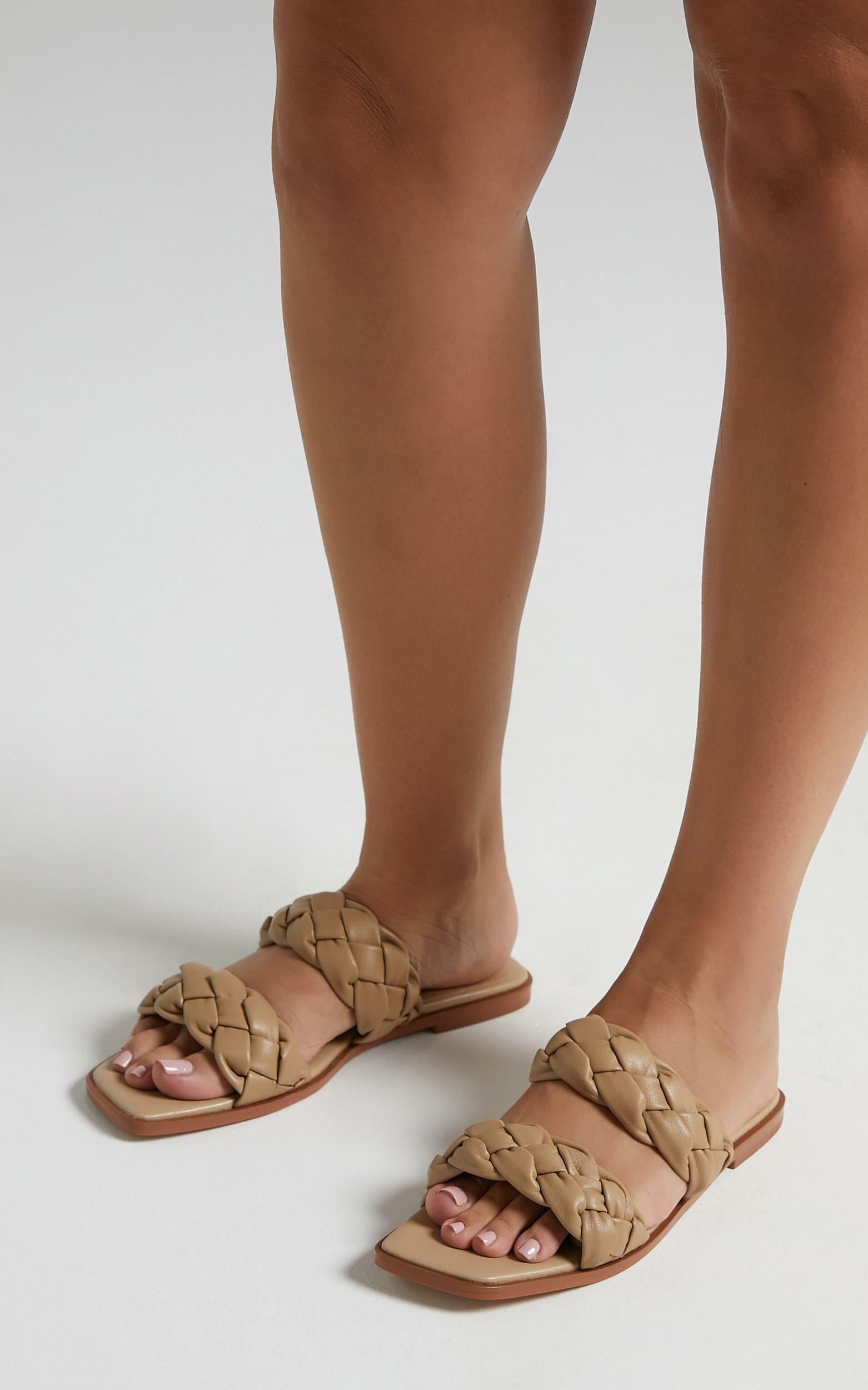 Alias Mae - Turner Sandals in Natural Leather - 5.5, BRN1, hi-res image number null
