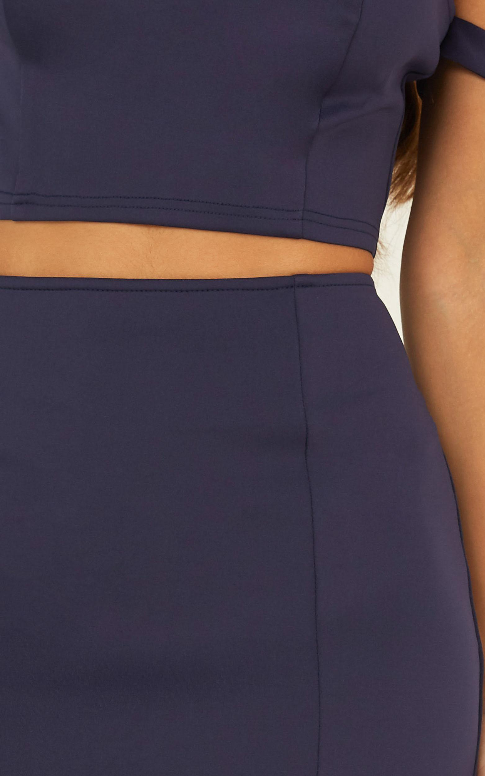 Moving Parts Two Piece in navy - 8 (S), Navy, hi-res image number null